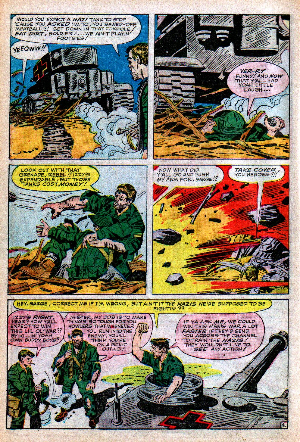 Read online Sgt. Fury comic -  Issue #5 - 6
