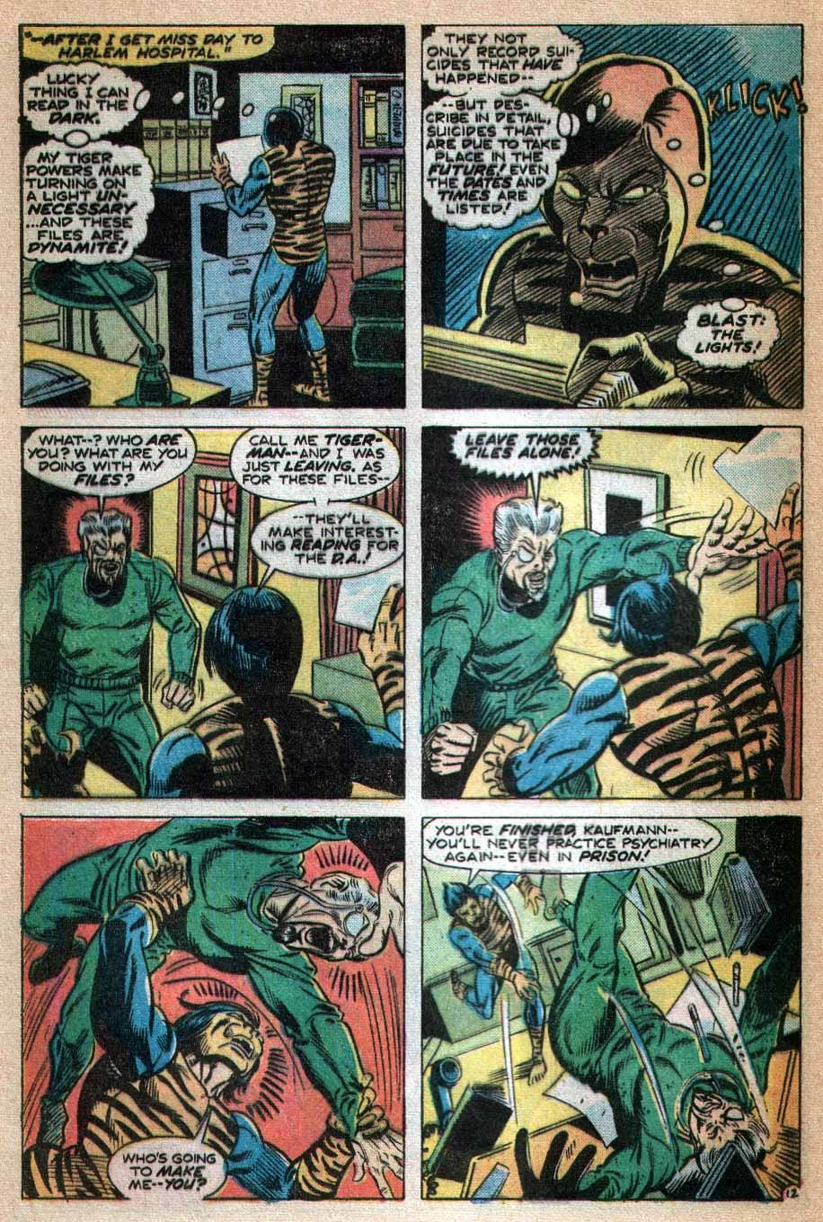 Read online Tiger-Man comic -  Issue #3 - 13