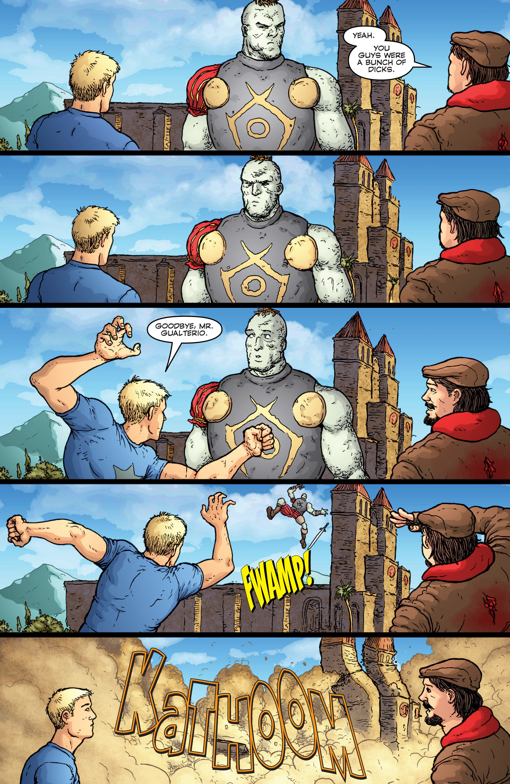 Read online Archer and Armstrong comic -  Issue #Archer and Armstrong _TPB 7 - 38