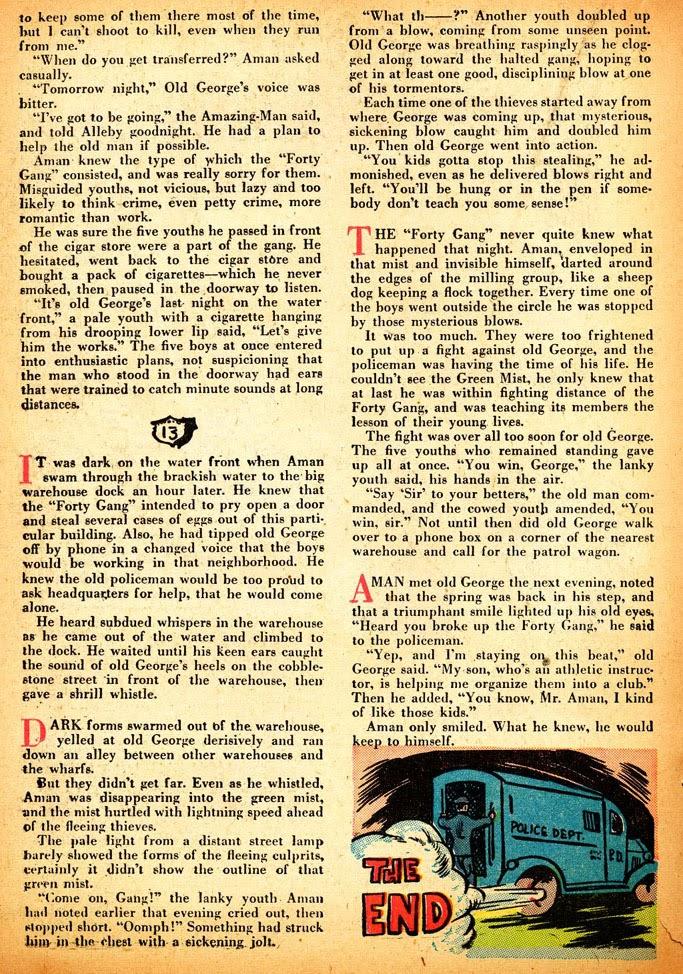 Read online Amazing Man Comics comic -  Issue #12 - 34