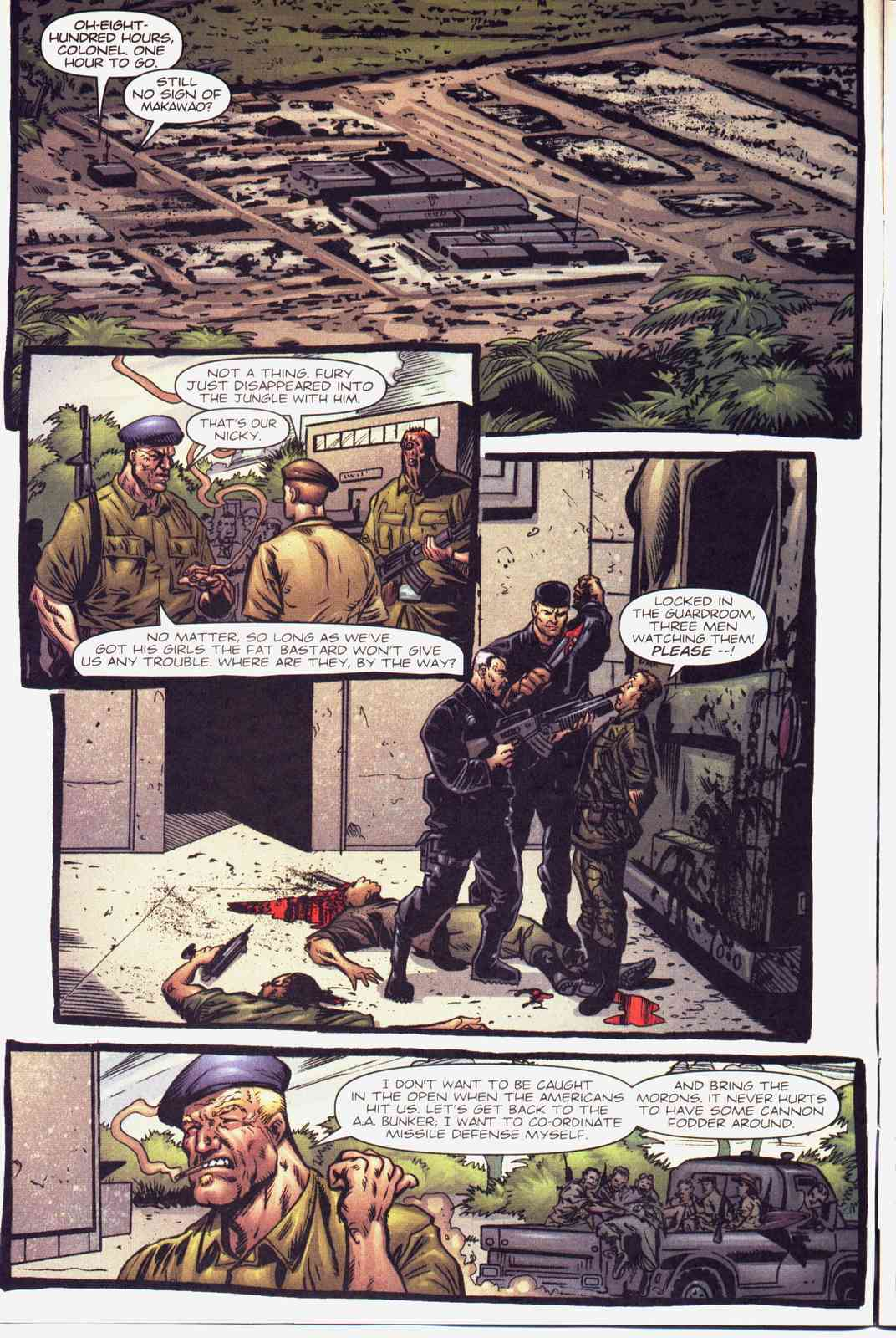 Read online Fury comic -  Issue #5 - 5