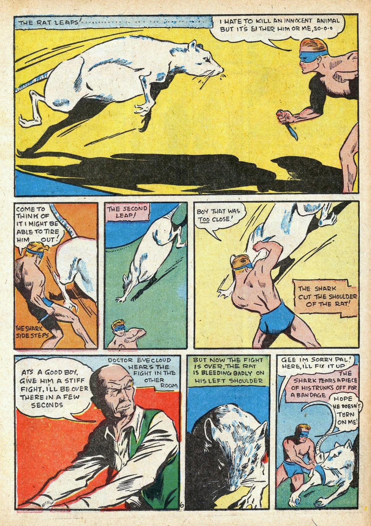 Read online Amazing Man Comics comic -  Issue #16 - 48