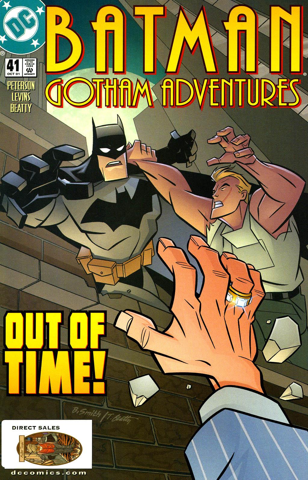 Batman: Gotham Adventures issue 41 - Page 1