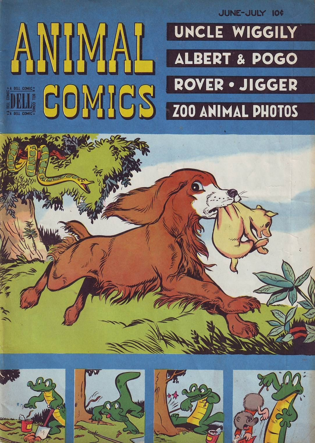 Read online Animal Comics comic -  Issue #27 - 1