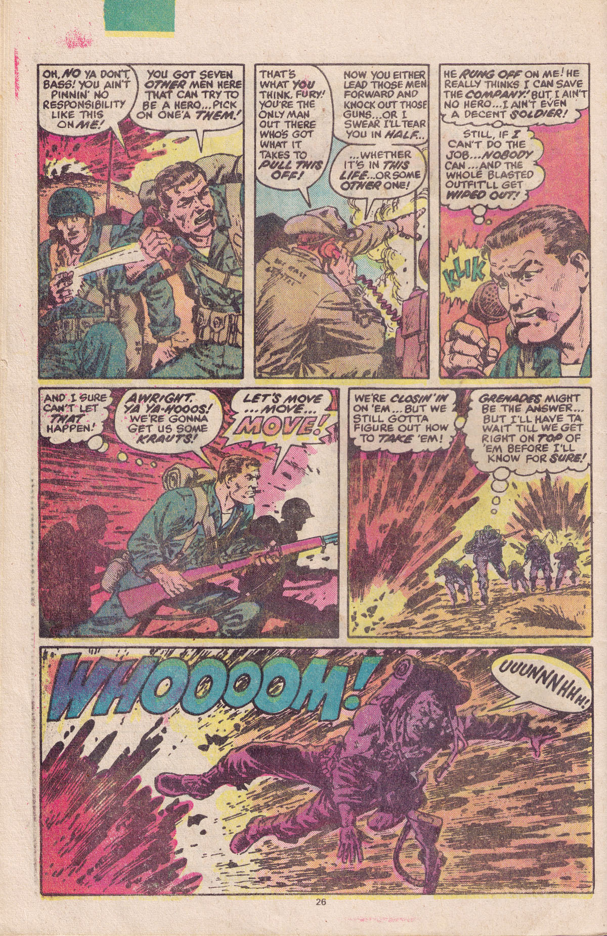 Read online Sgt. Fury comic -  Issue #158 - 28