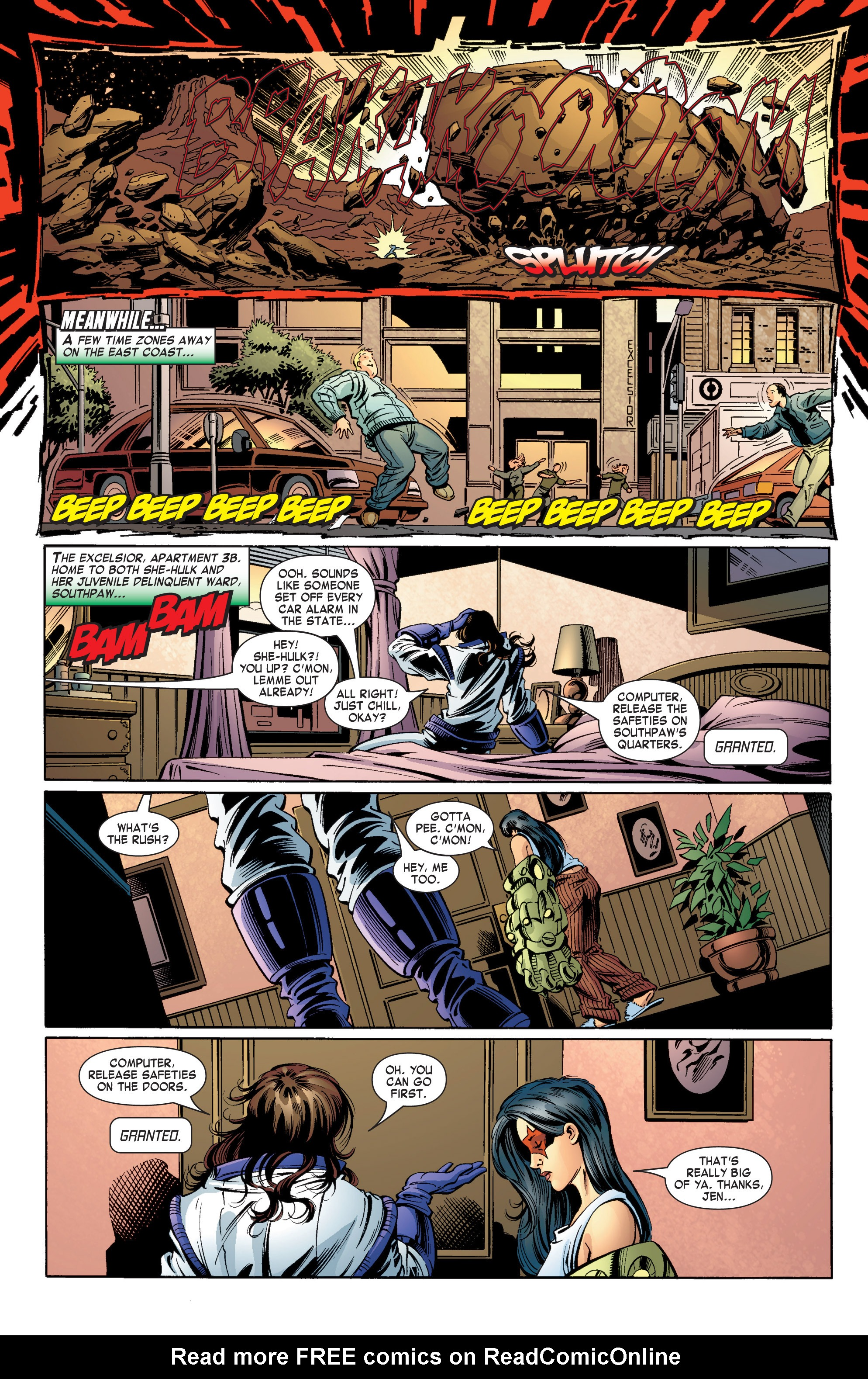 Read online She-Hulk (2004) comic -  Issue #11 - 4