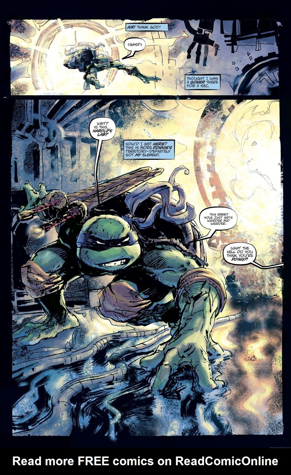 Read online Teenage Mutant Ninja Turtles: The IDW Collection comic -  Issue # TPB 8 (Part 3) - 16