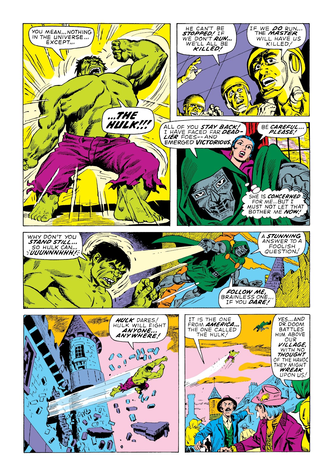 Read online Marvel Masterworks: The Incredible Hulk comic -  Issue # TPB 7 (Part 3) - 22