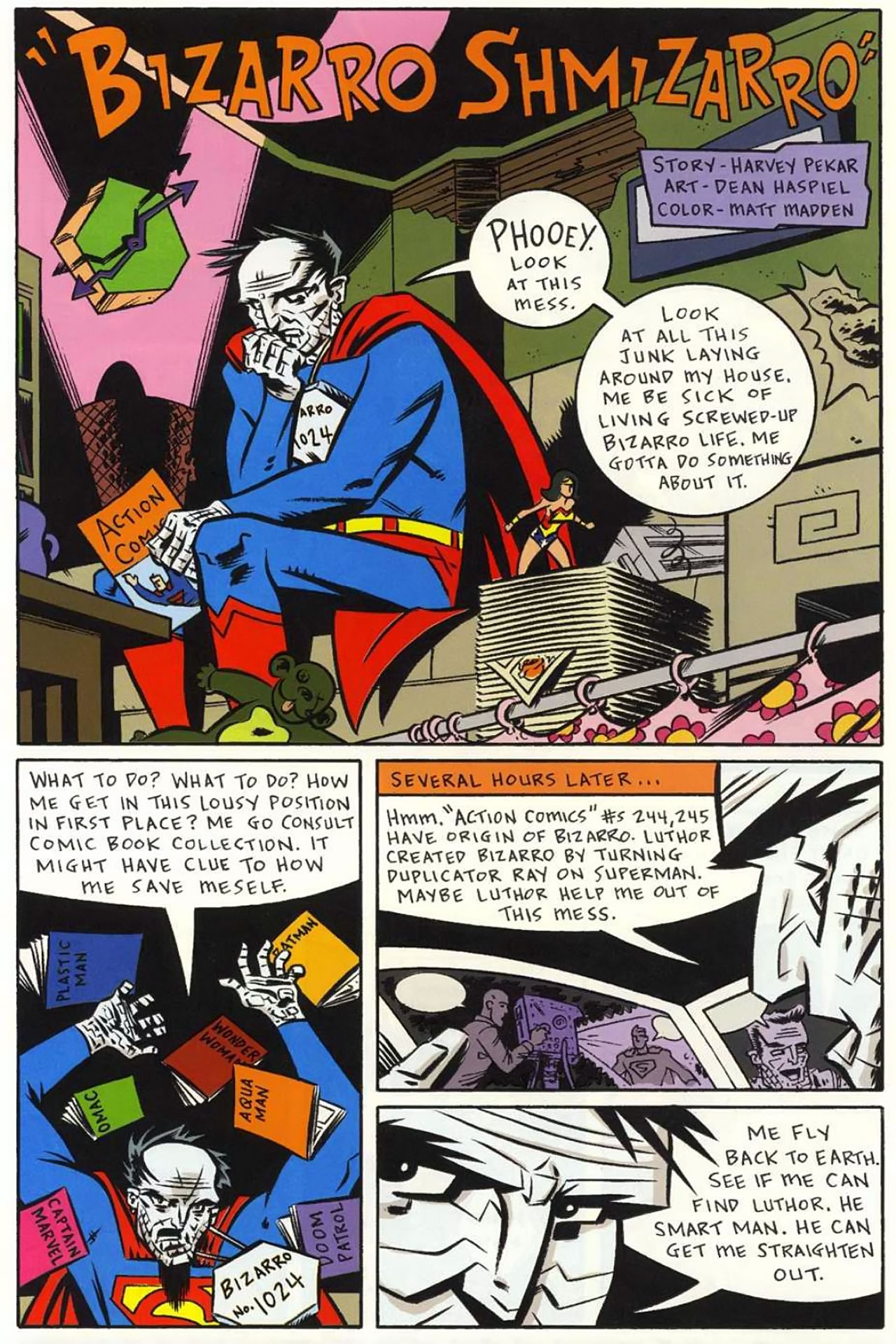 Read online Bizarro World comic -  Issue # TPB - 94
