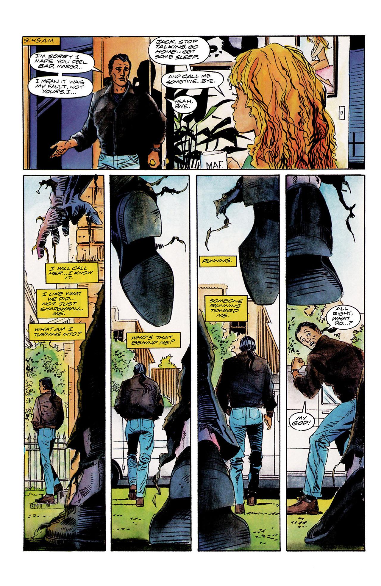 Read online Shadowman (1992) comic -  Issue #10 - 5