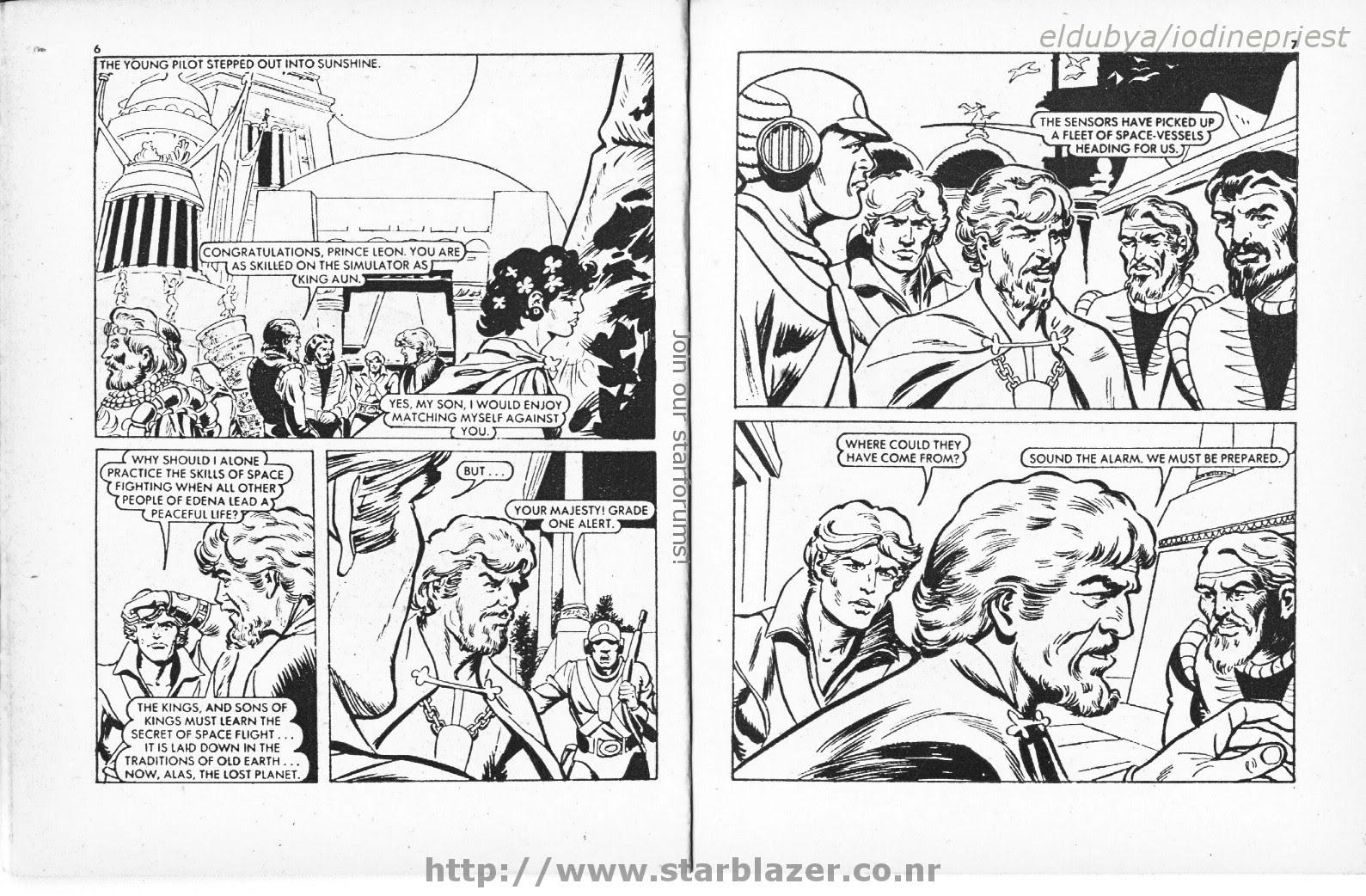 Starblazer issue 33 - Page 5