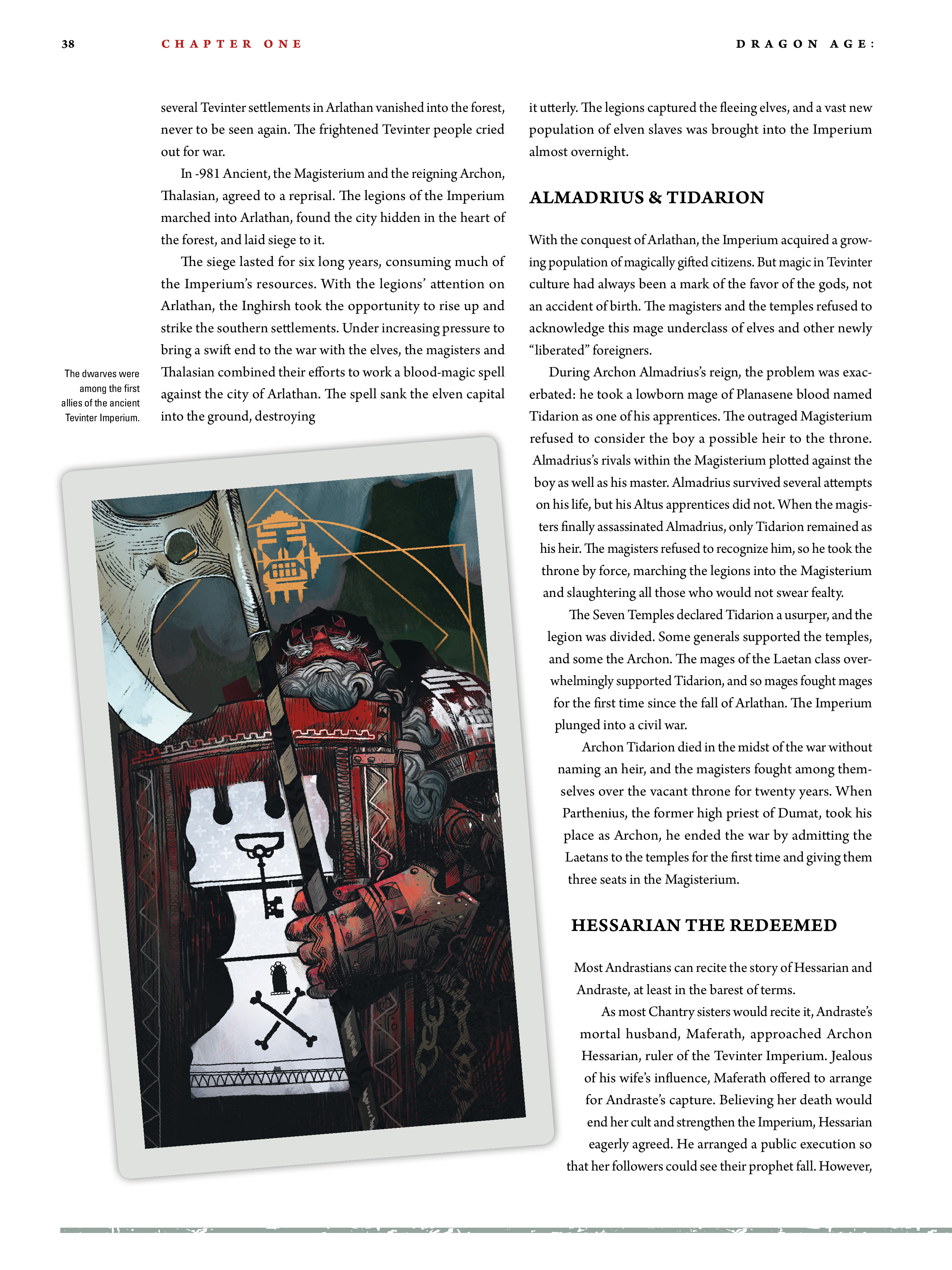 Read online Dragon Age: The World of Thedas comic -  Issue # TPB 2 - 35