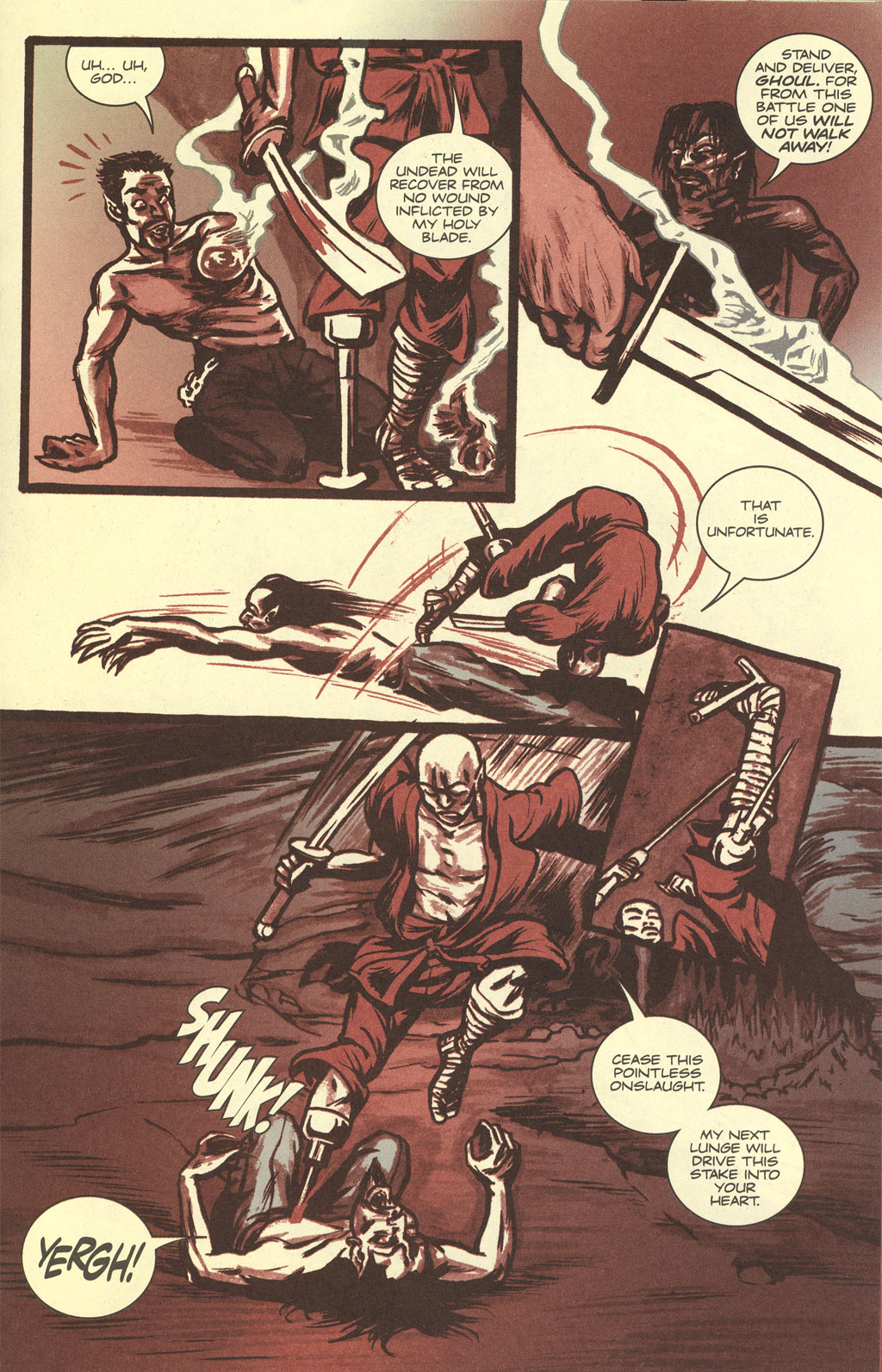 Read online Sea of Red comic -  Issue #4 - 21