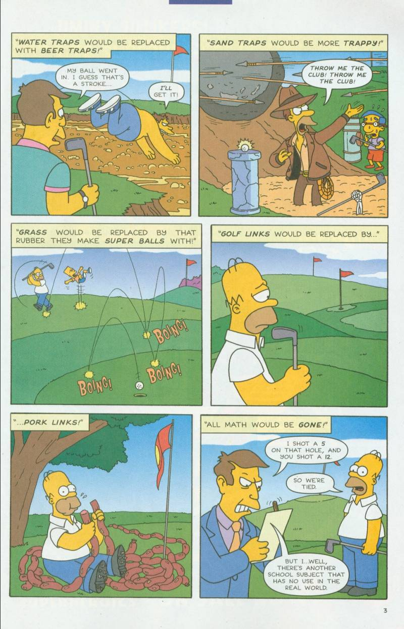 Read online Simpsons Comics comic -  Issue #63 - 25