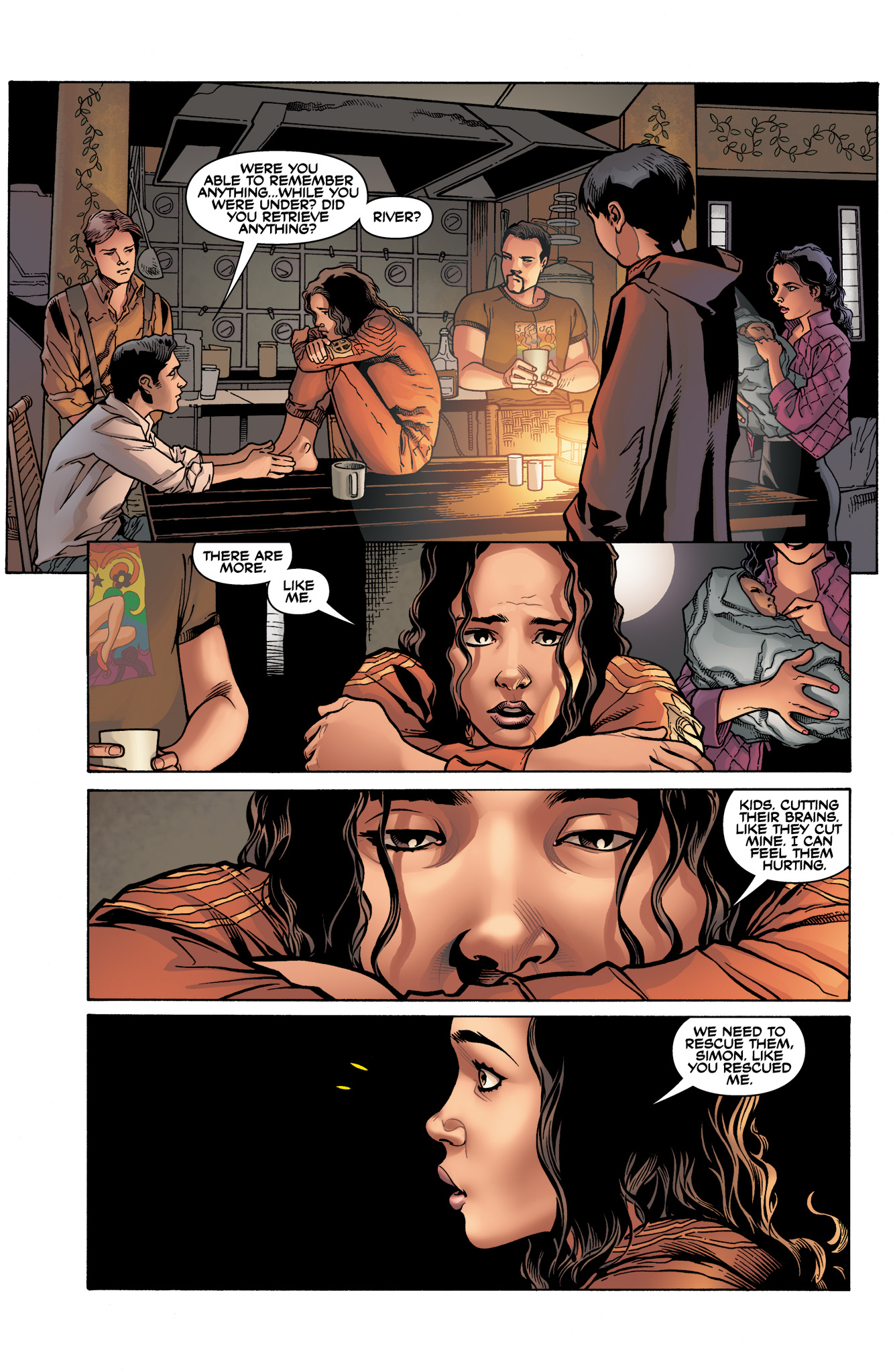 Read online Serenity: Firefly Class 03-K64  Leaves on the Wind comic -  Issue #3 - 18