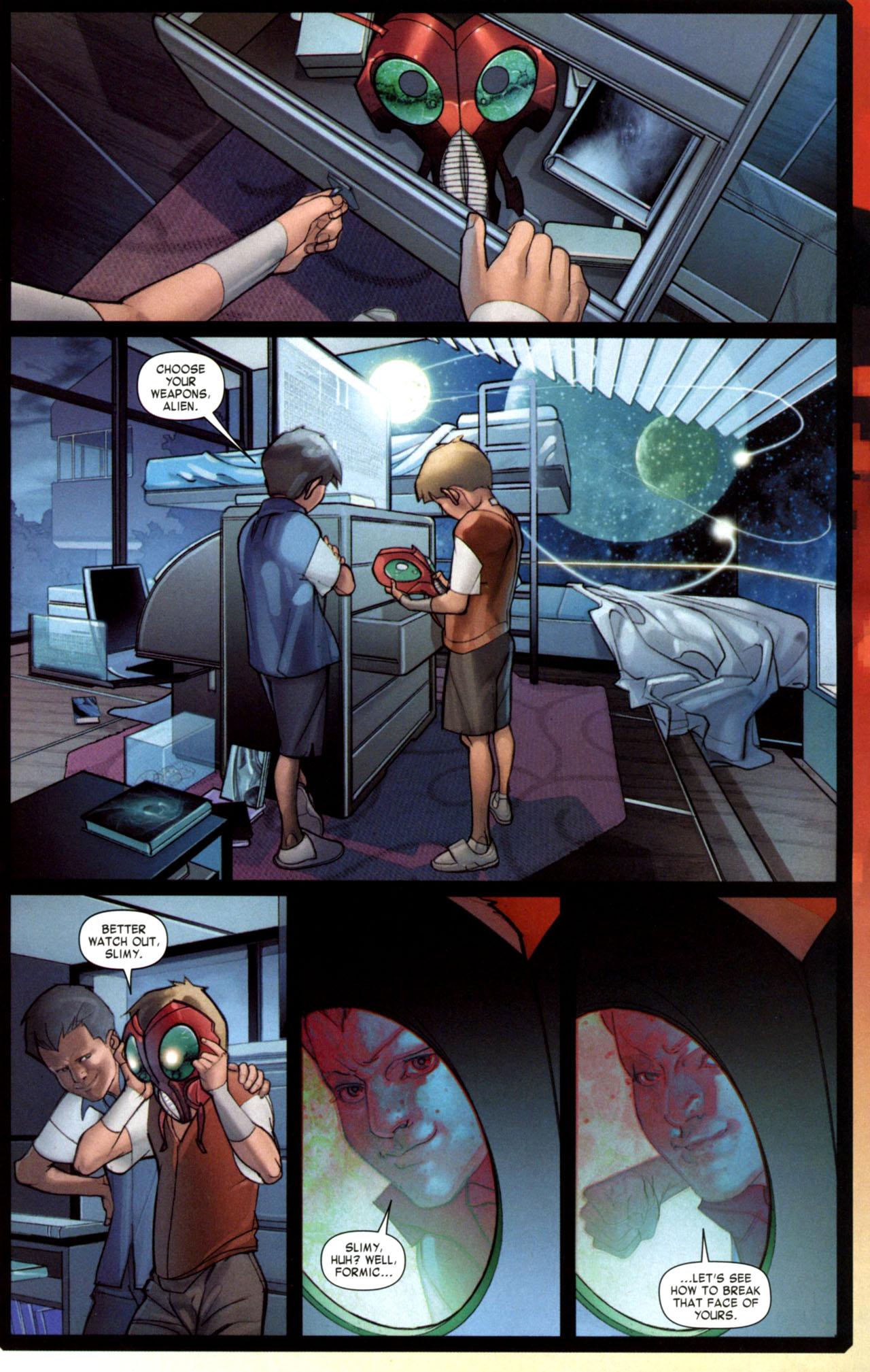 Read online Ender's Game: Battle School comic -  Issue #1 - 15