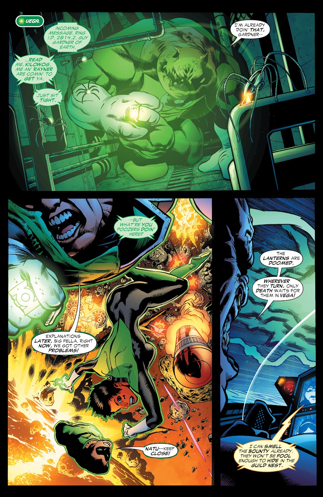 Read online Green Lantern by Geoff Johns comic -  Issue # TPB 1 (Part 3) - 53