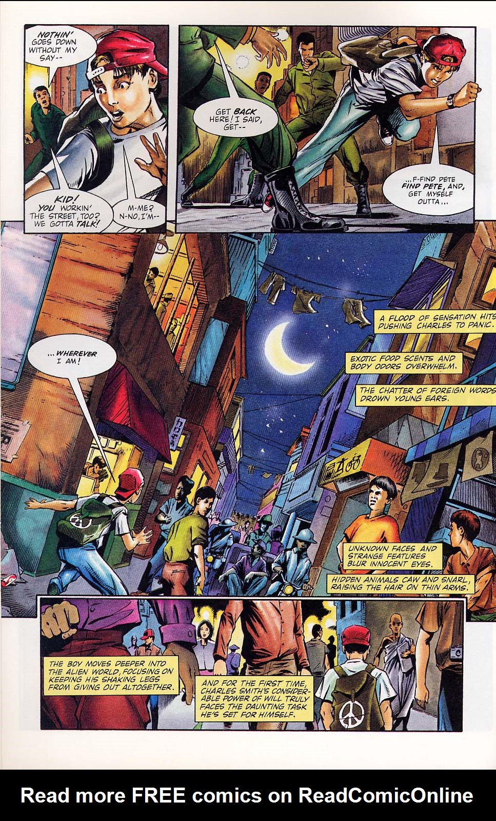 Read online Charlemagne comic -  Issue #1 - 9