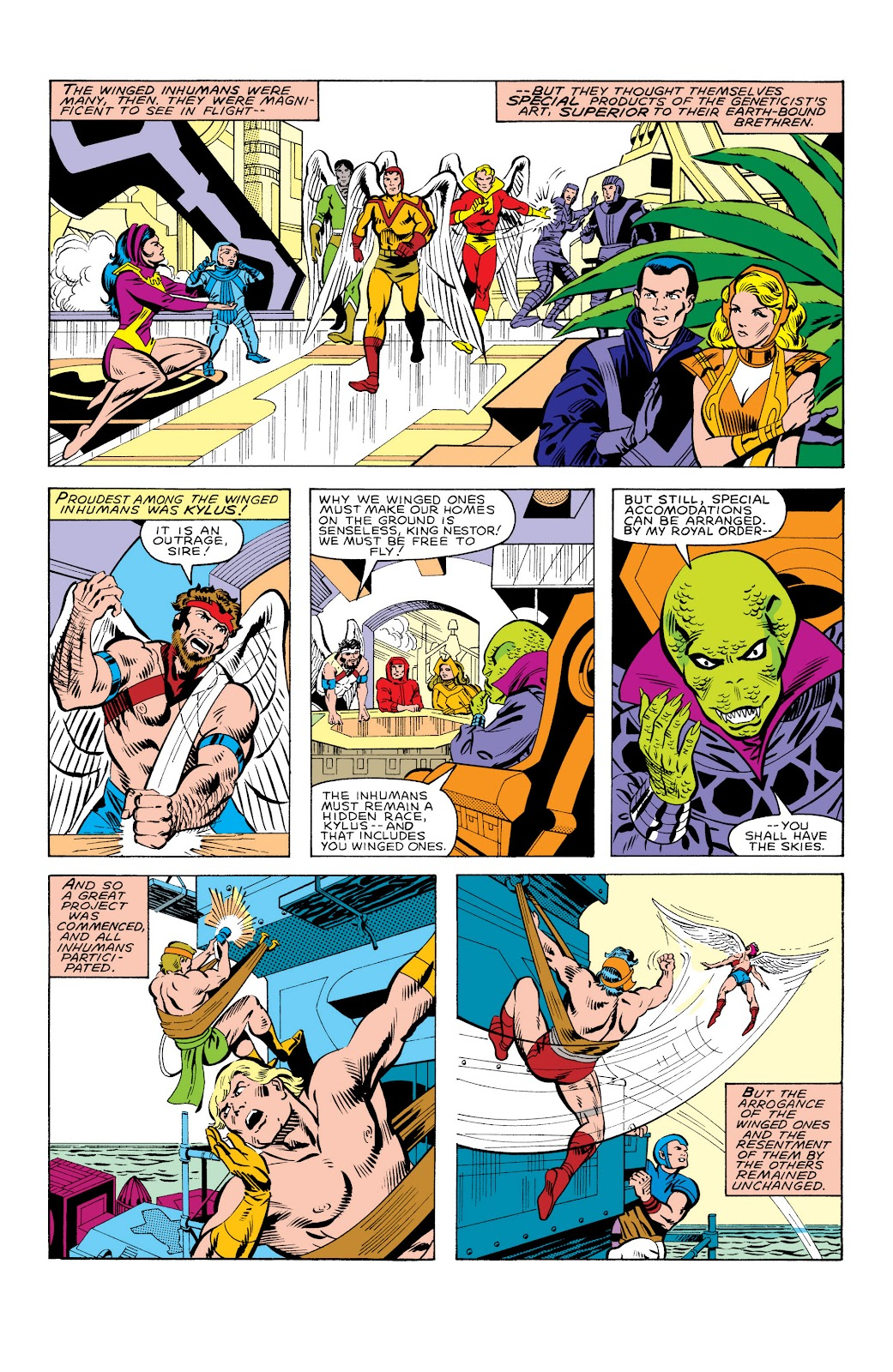 Read online Marvel Masterworks: The Inhumans comic -  Issue # TPB 2 (Part 3) - 98