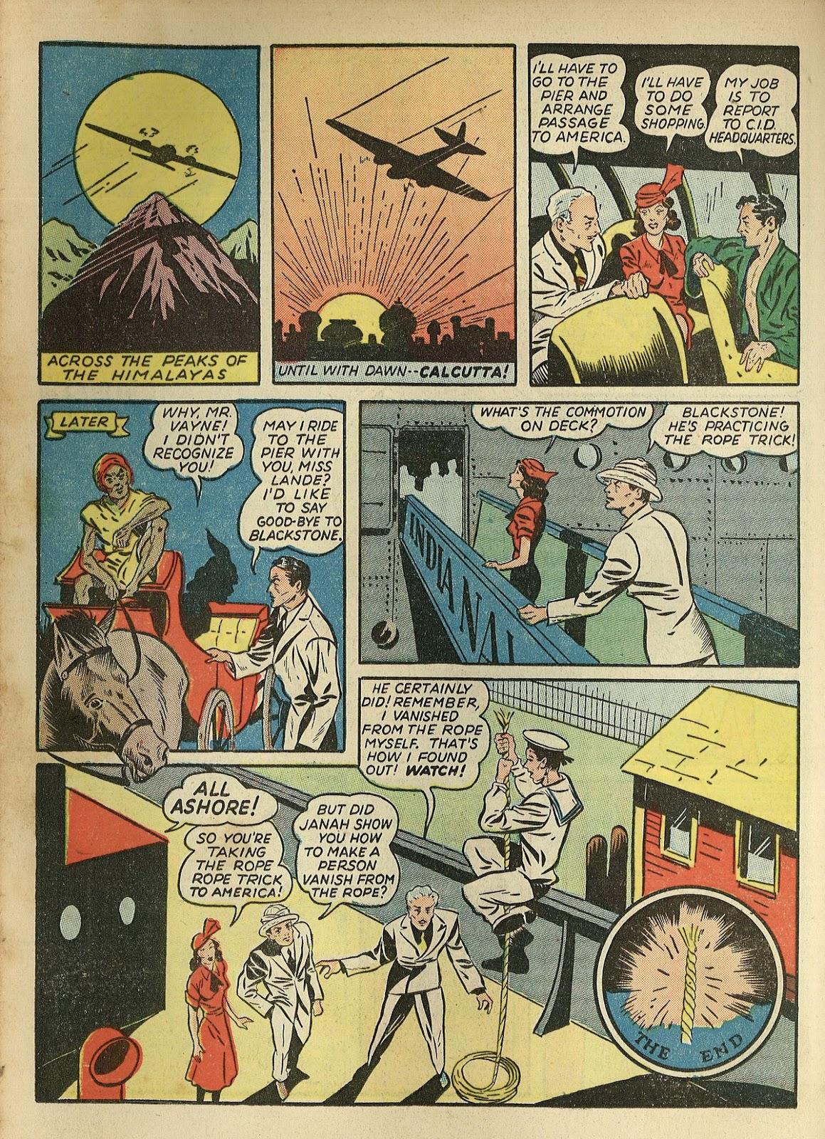 Read online Super-Magician Comics comic -  Issue #1 - 40