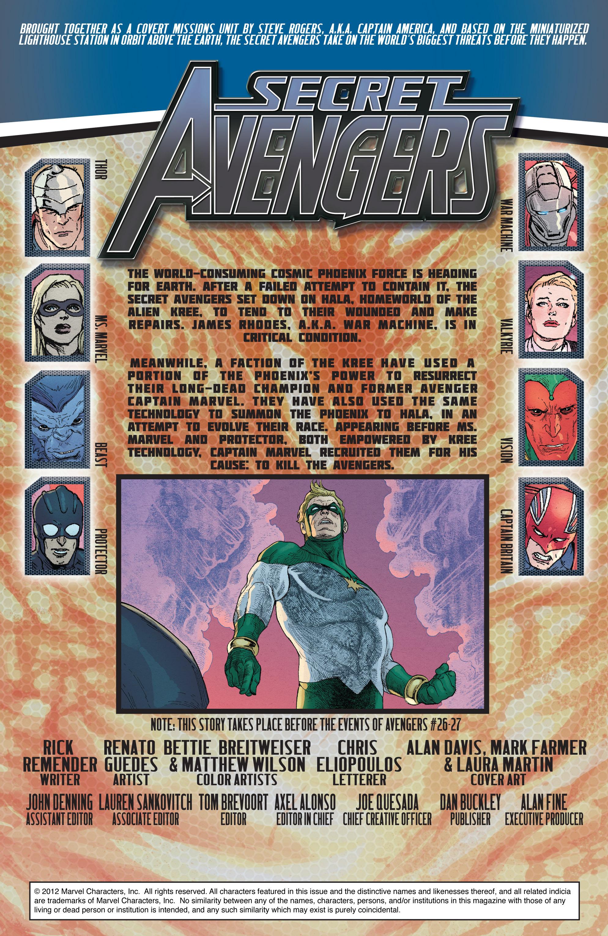 Read online Secret Avengers (2010) comic -  Issue #27 - 2