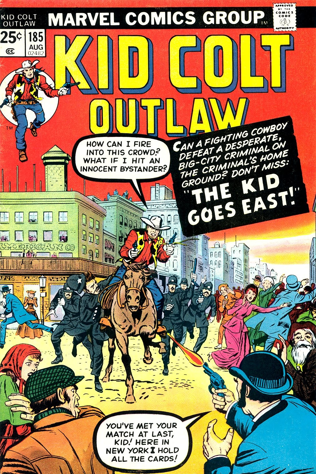 Kid Colt Outlaw issue 185 - Page 1