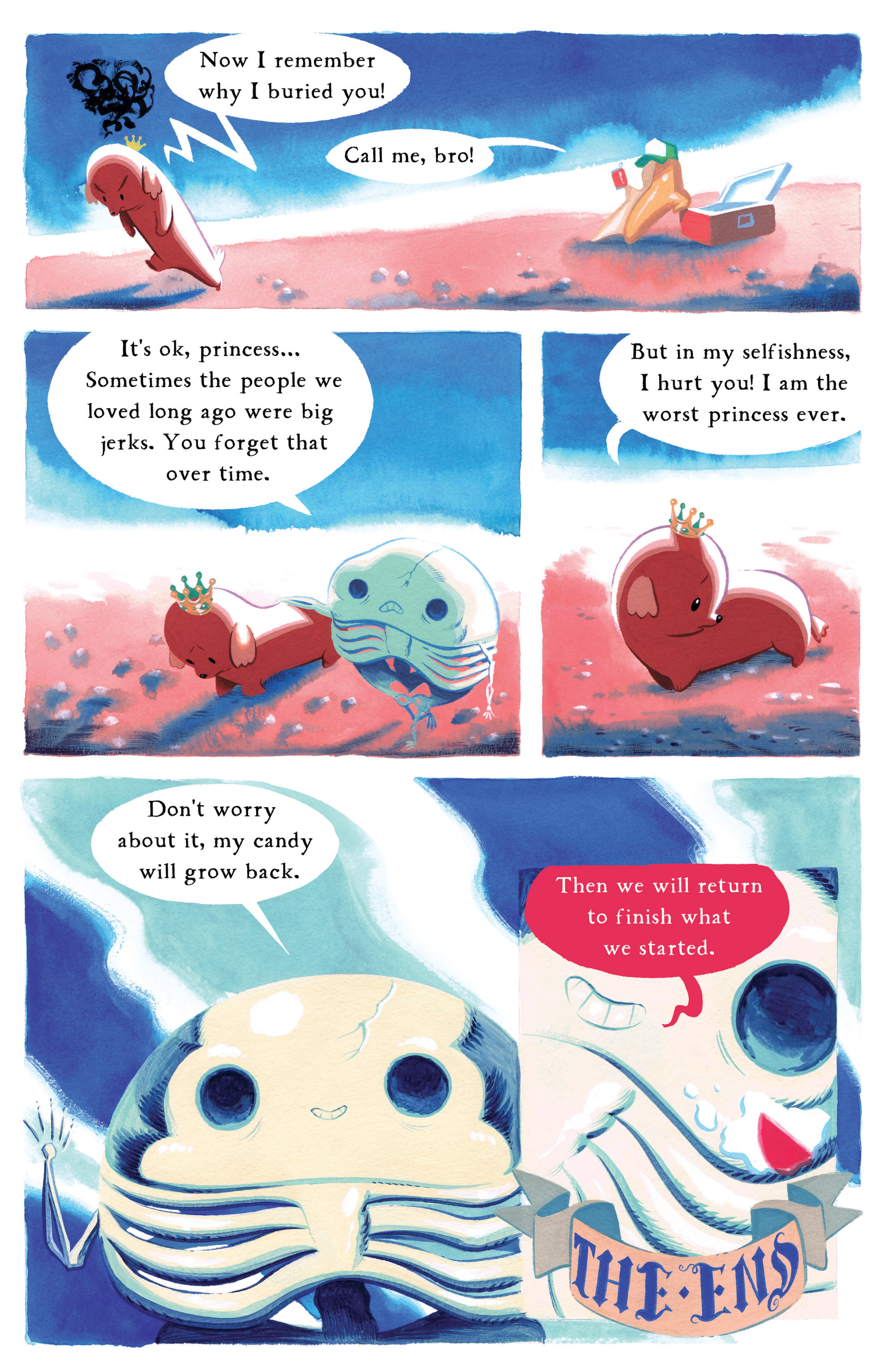 Read online Adventure Time comic -  Issue #8 - 28