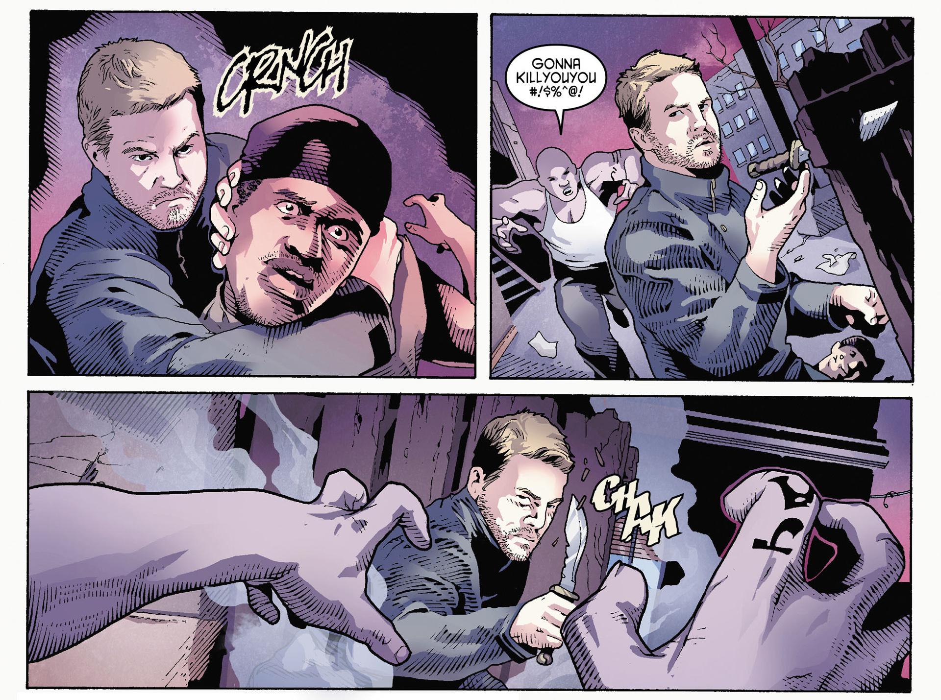 Read online Arrow [II] comic -  Issue #35 - 11