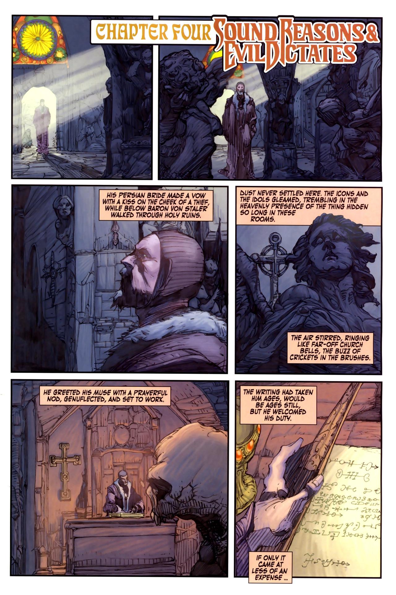 Read online Solomon Kane comic -  Issue #3 - 9