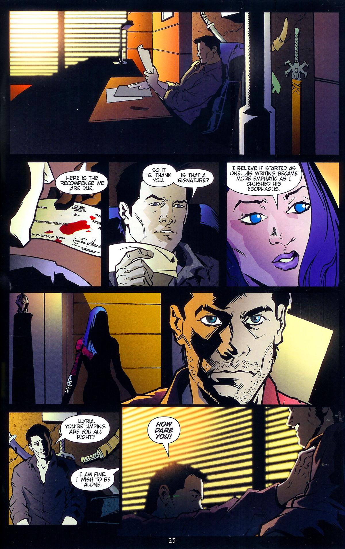 Read online Angel: Masks comic -  Issue # Full - 25