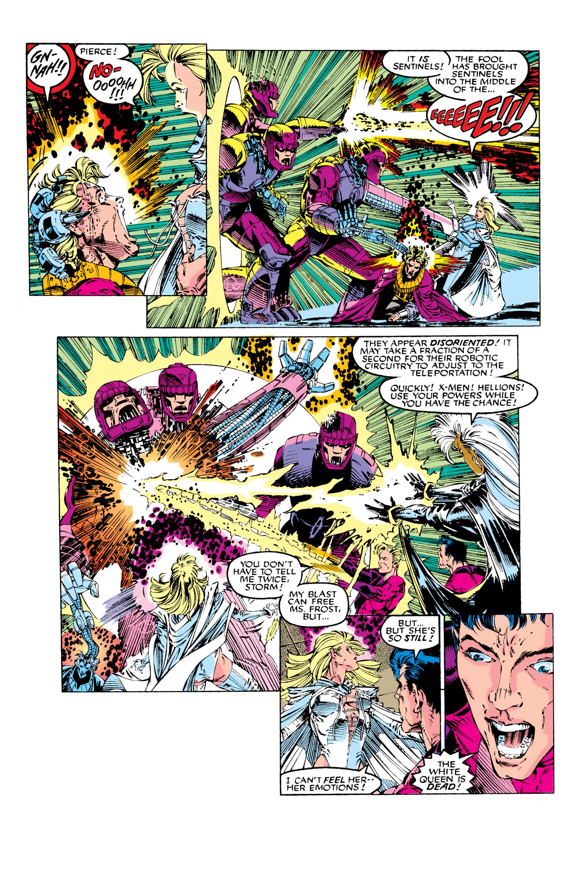Read online Uncanny X-Men (1963) comic -  Issue #281 - 19