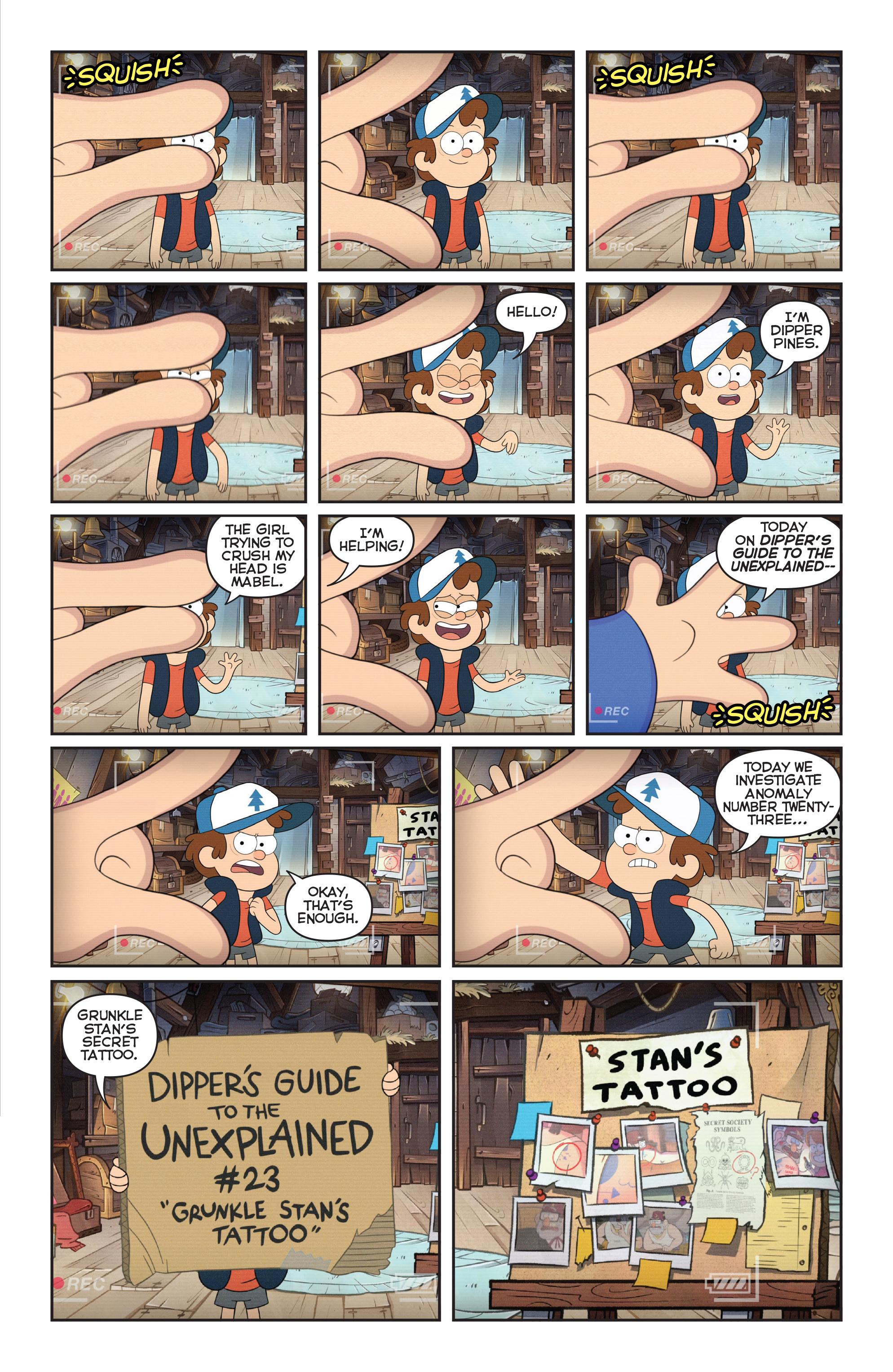 Read online Disney Gravity Falls Shorts Cinestory Comic comic -  Issue #2 - 3