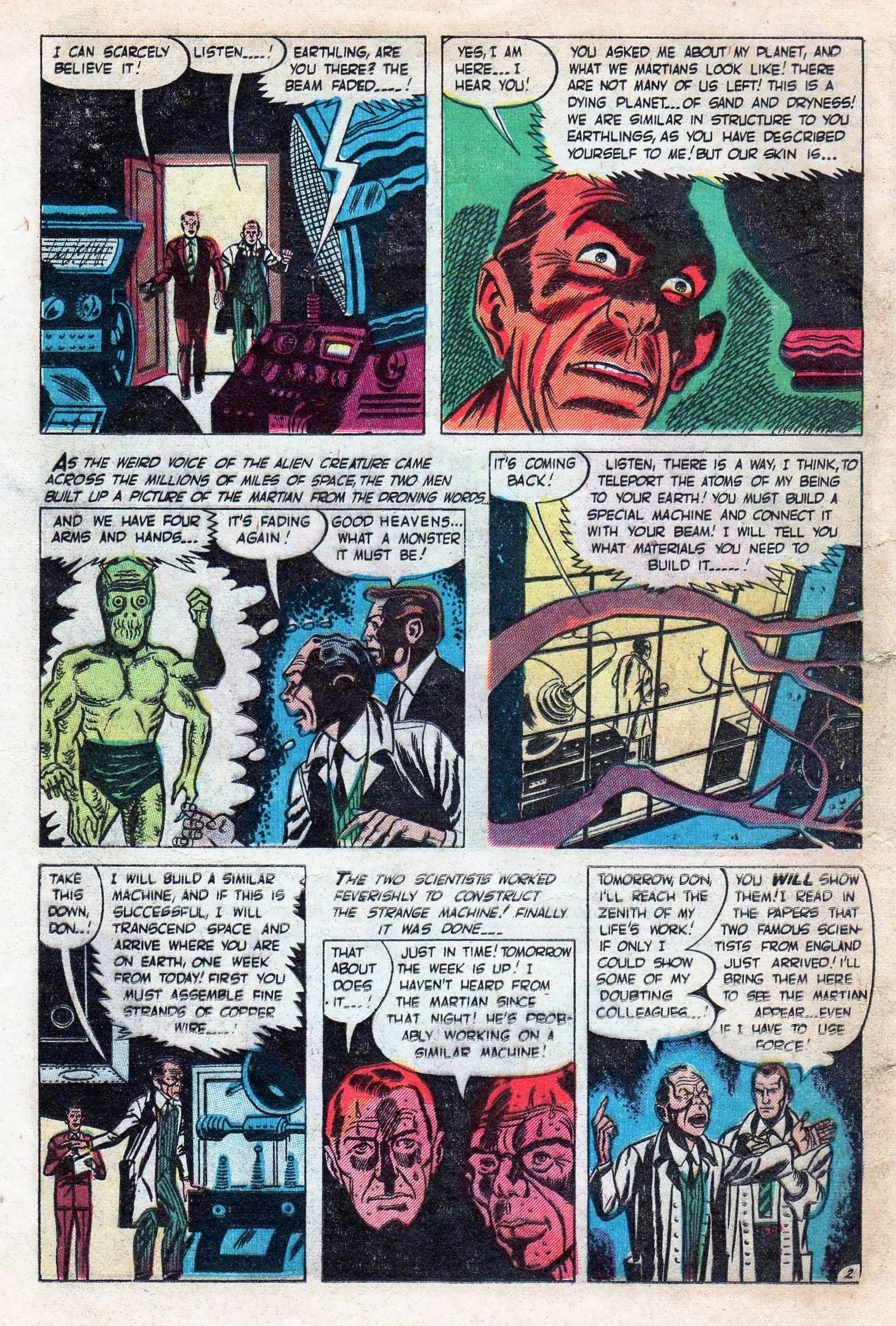 Read online Adventures into Weird Worlds comic -  Issue #11 - 24