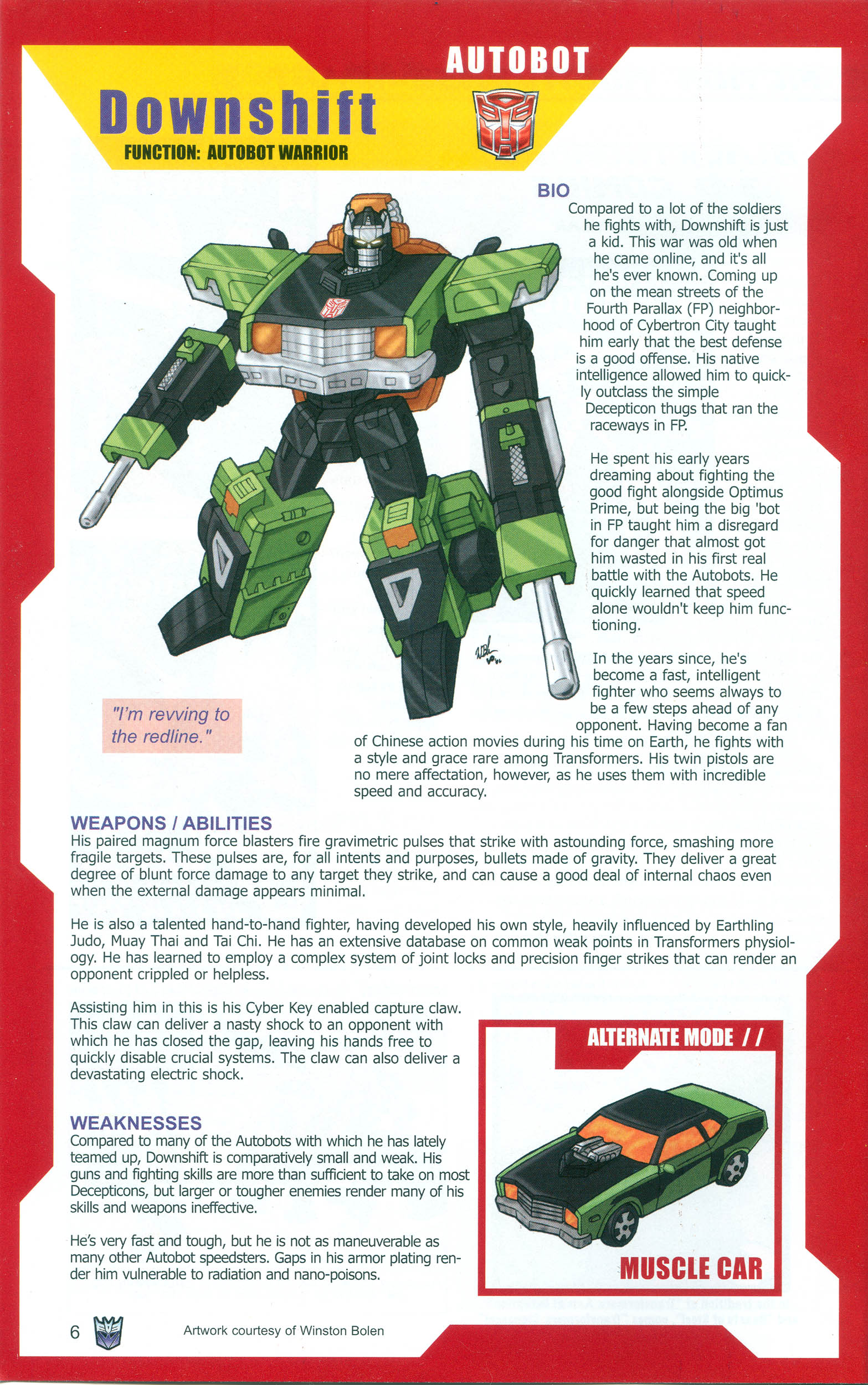 Read online Transformers: Collectors' Club comic -  Issue #10 - 6