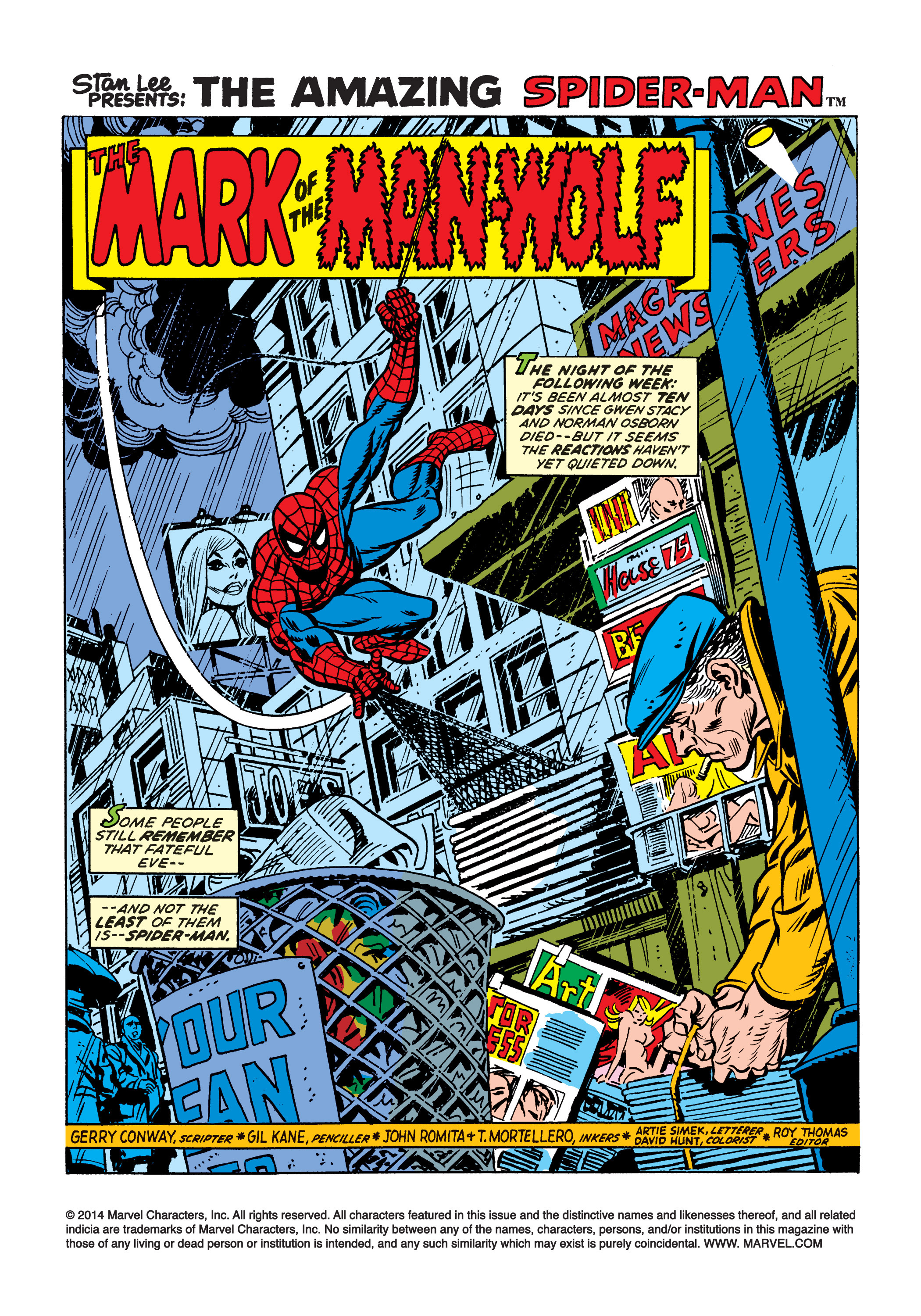The Amazing Spider-Man (1963) 124 Page 1