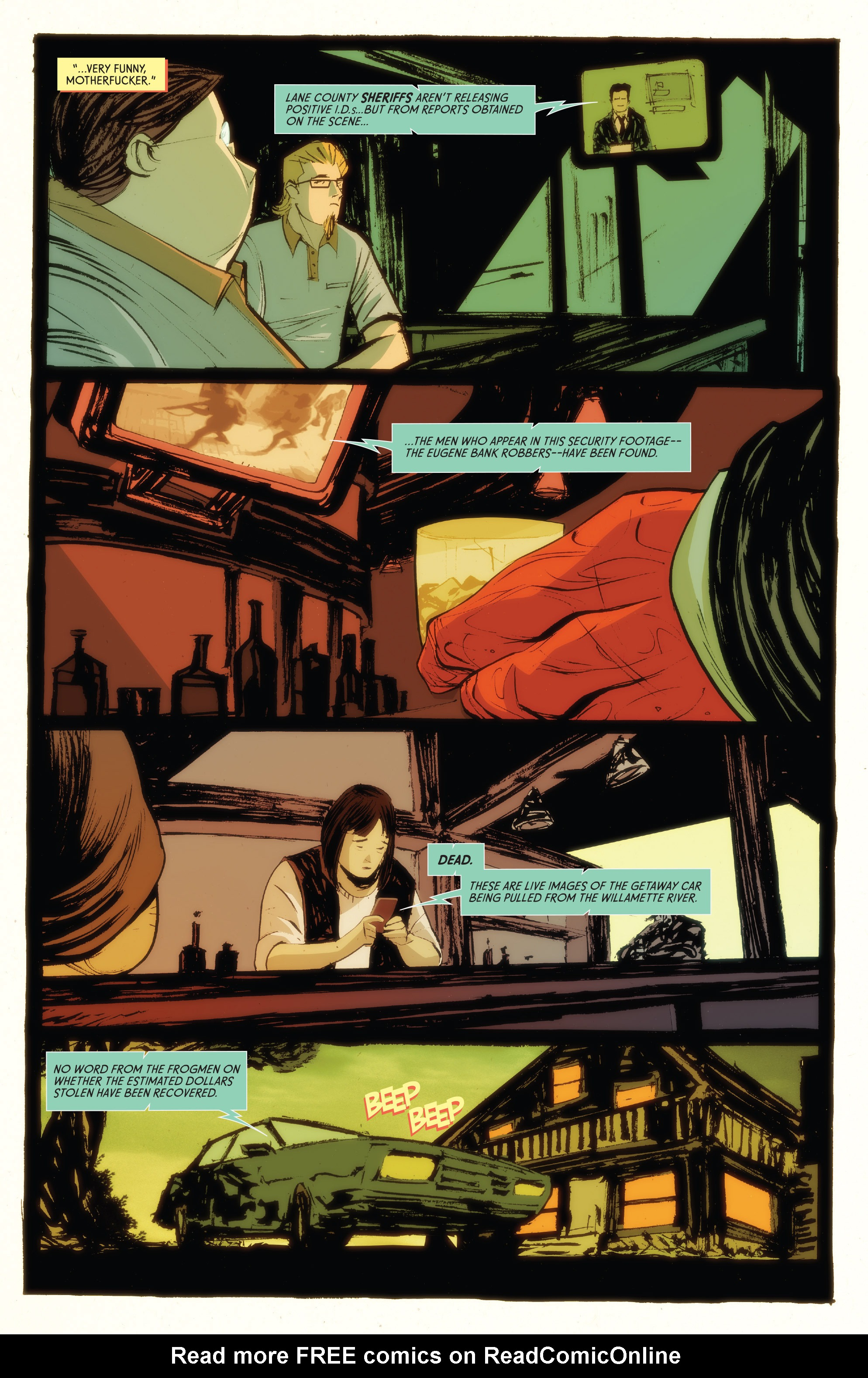 Read online American Monster comic -  Issue #5 - 5