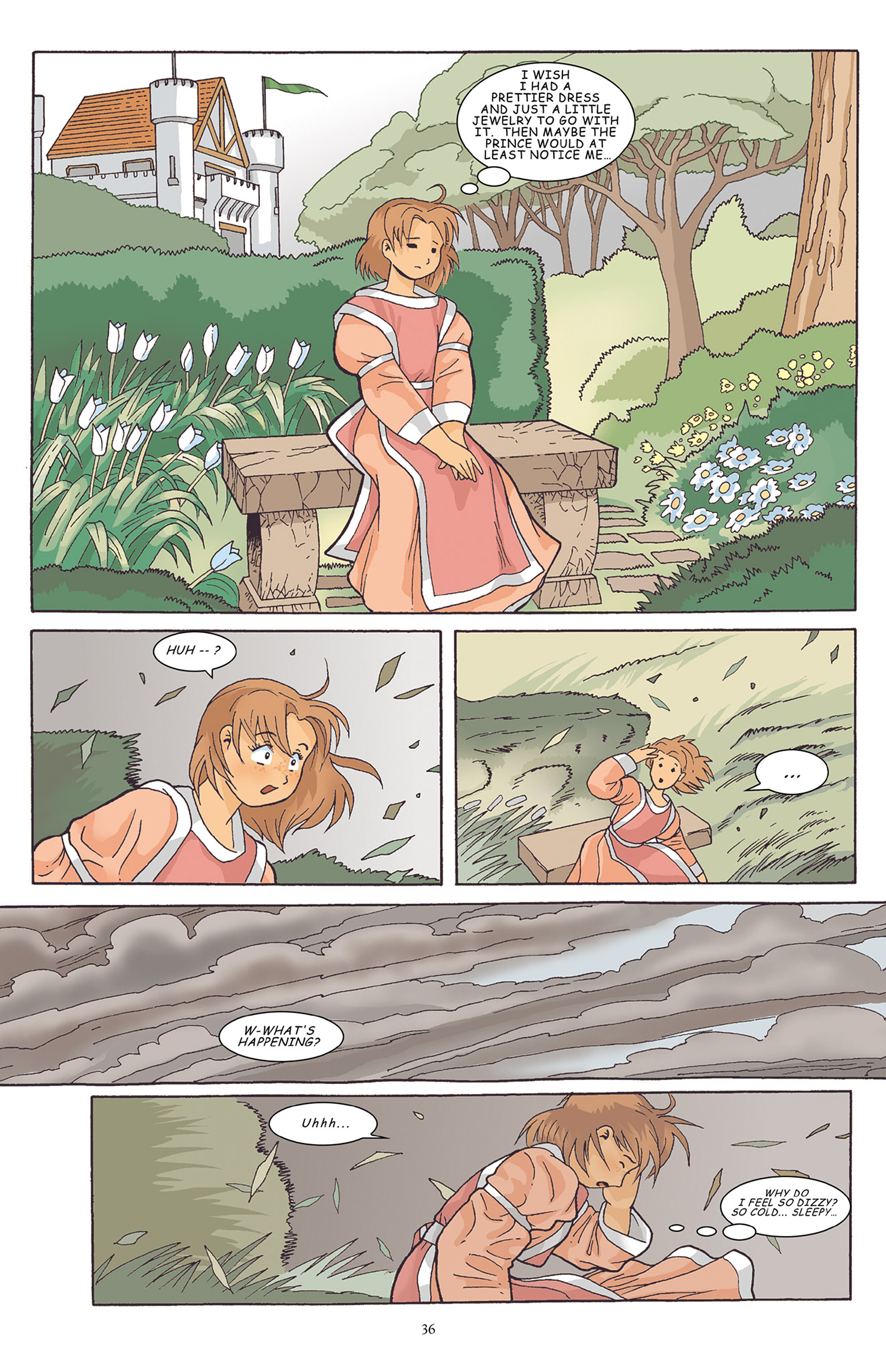 Read online Courageous Princess comic -  Issue # TPB 1 - 37