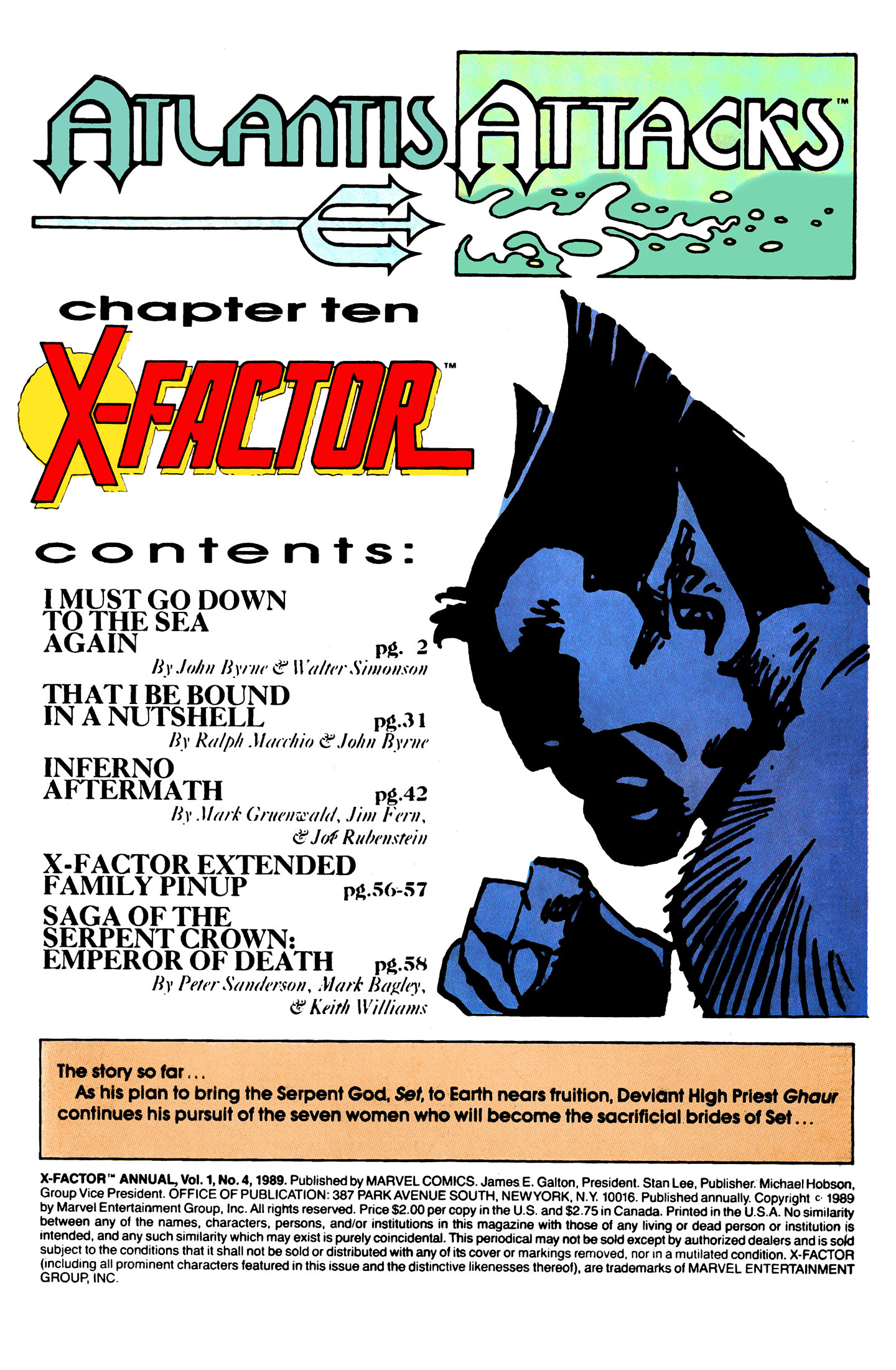 Read online X-Factor (1986) comic -  Issue # _ Annual 4 - 2