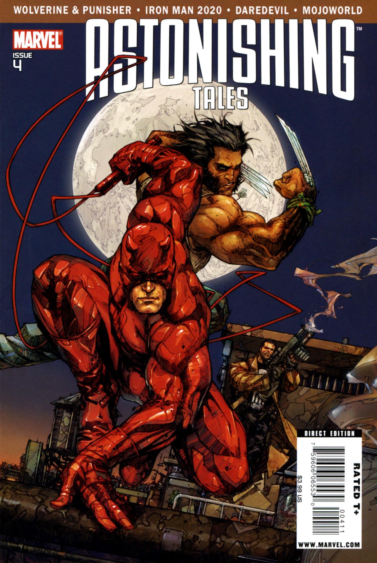 Read online Astonishing Tales (2009) comic -  Issue #4 - 1