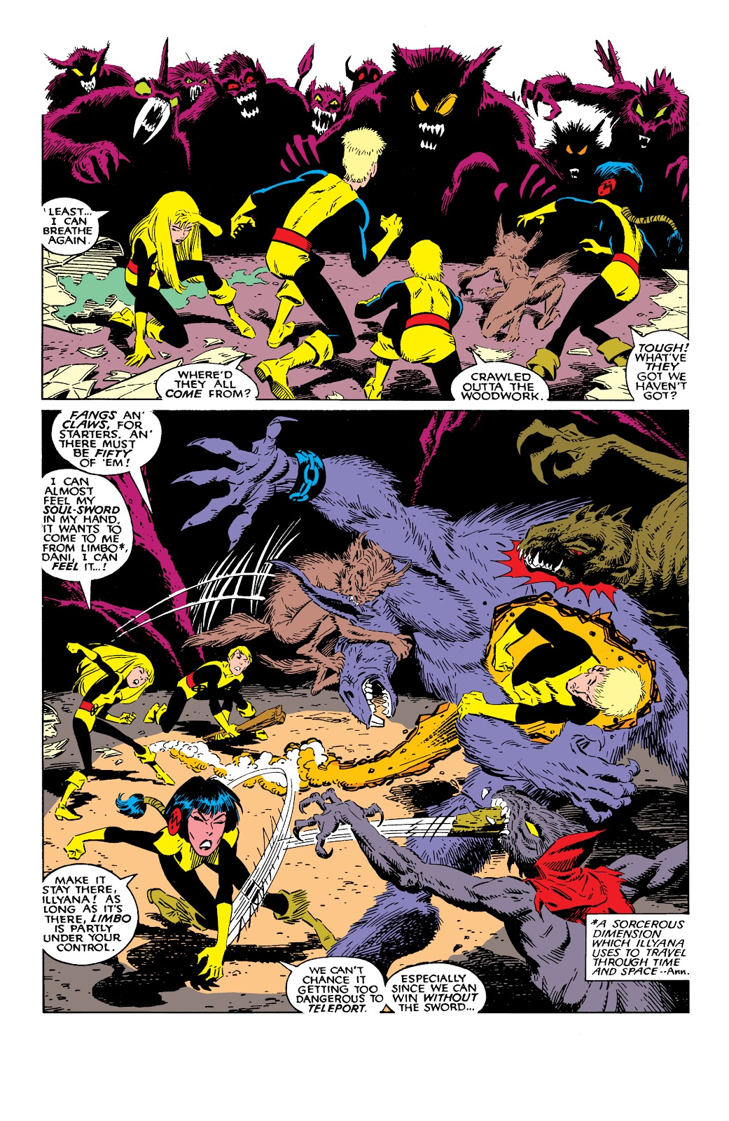 Read online X-Men Milestones: Fall of the Mutants comic -  Issue # TPB (Part 2) - 35