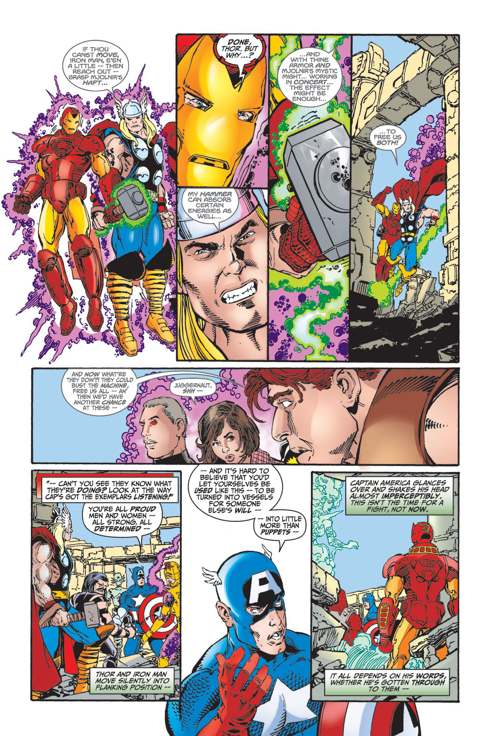 Read online Avengers (1998) comic -  Issue #25 - 32