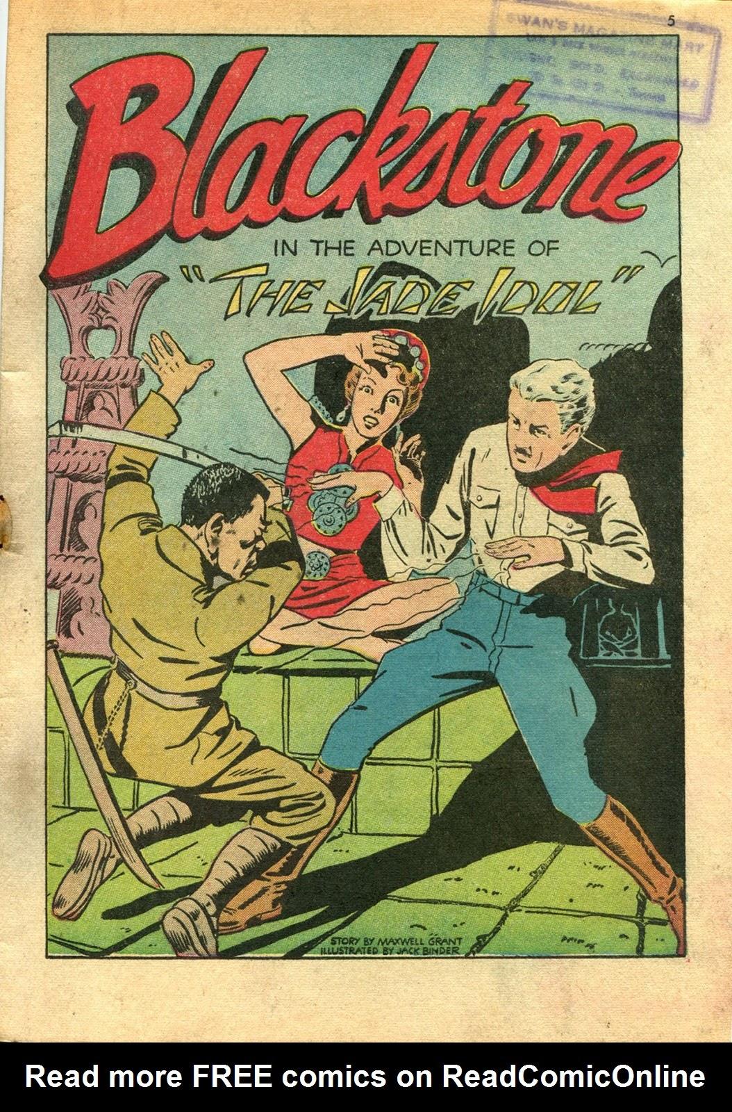 Read online Super-Magician Comics comic -  Issue #14 - 5