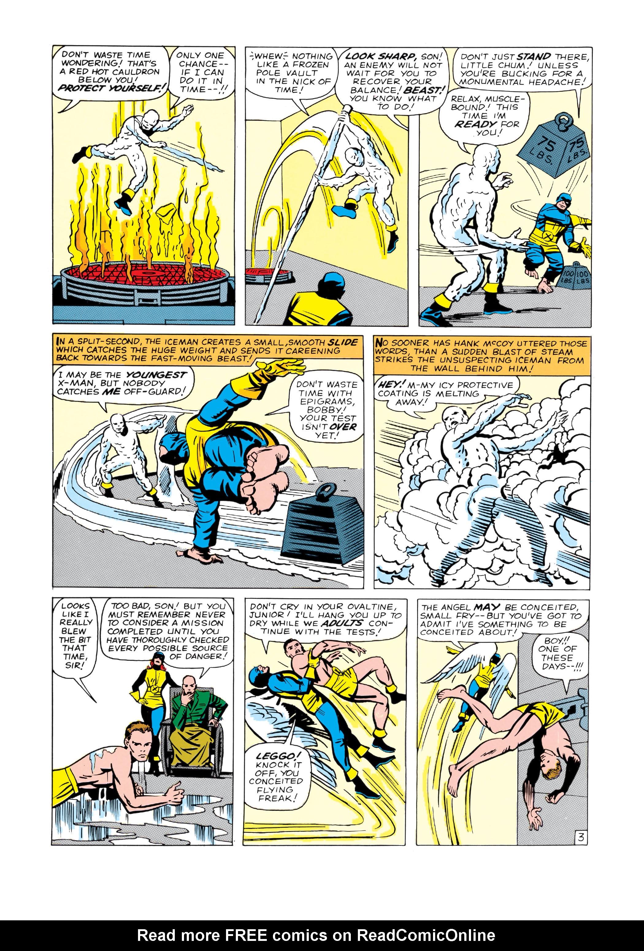 Read online Uncanny X-Men (1963) comic -  Issue #4 - 4