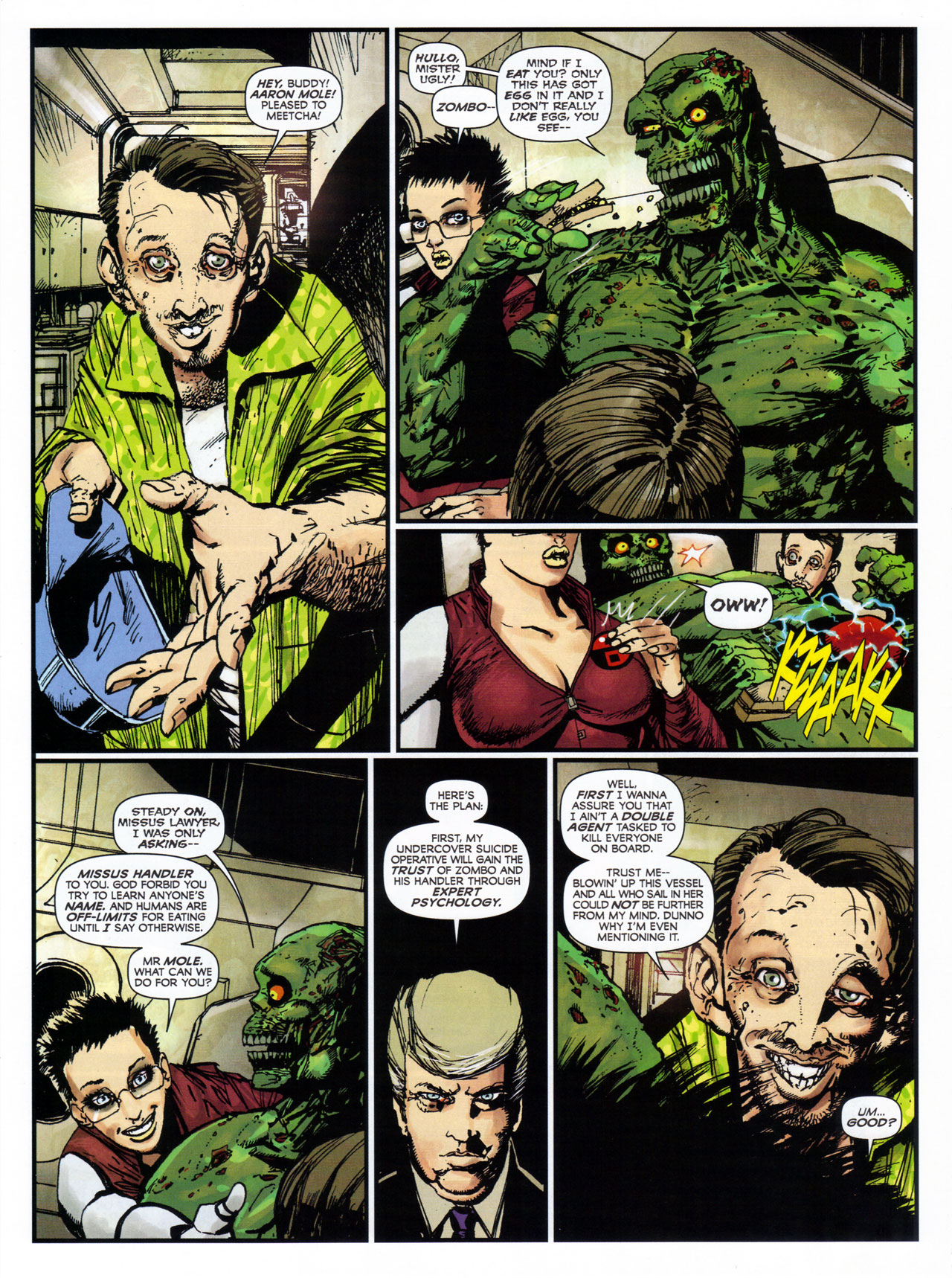 Read online 2000 AD comic -  Issue #1746 - 98