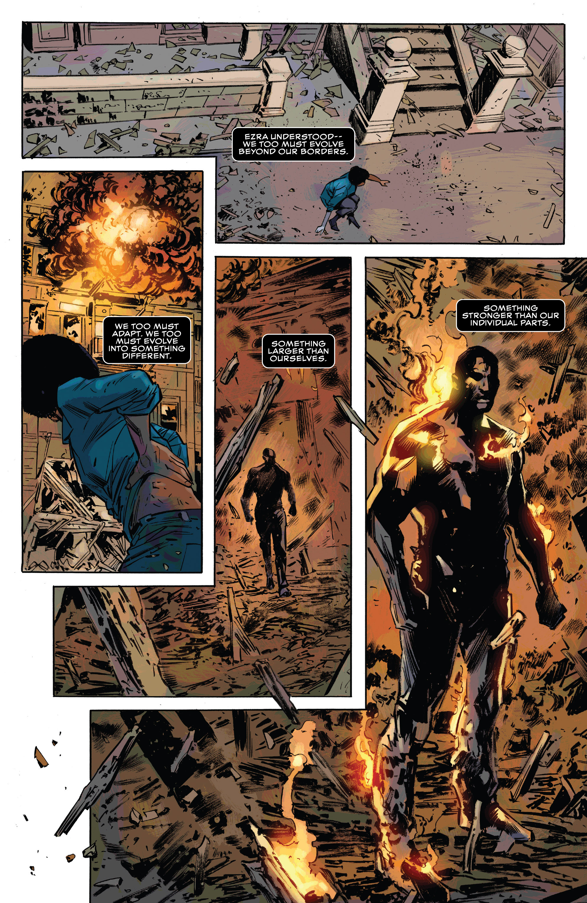 Read online Black Panther and the Crew comic -  Issue #3 - 22