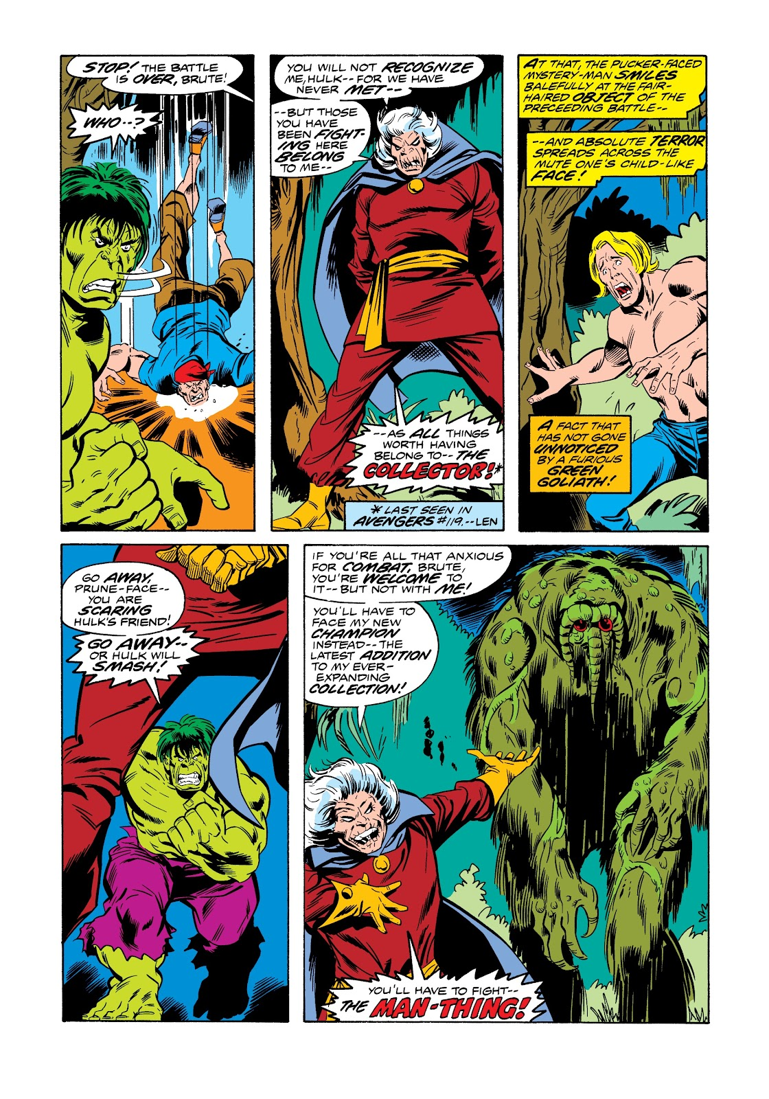 Read online Marvel Masterworks: The Incredible Hulk comic -  Issue # TPB 12 (Part 1) - 22