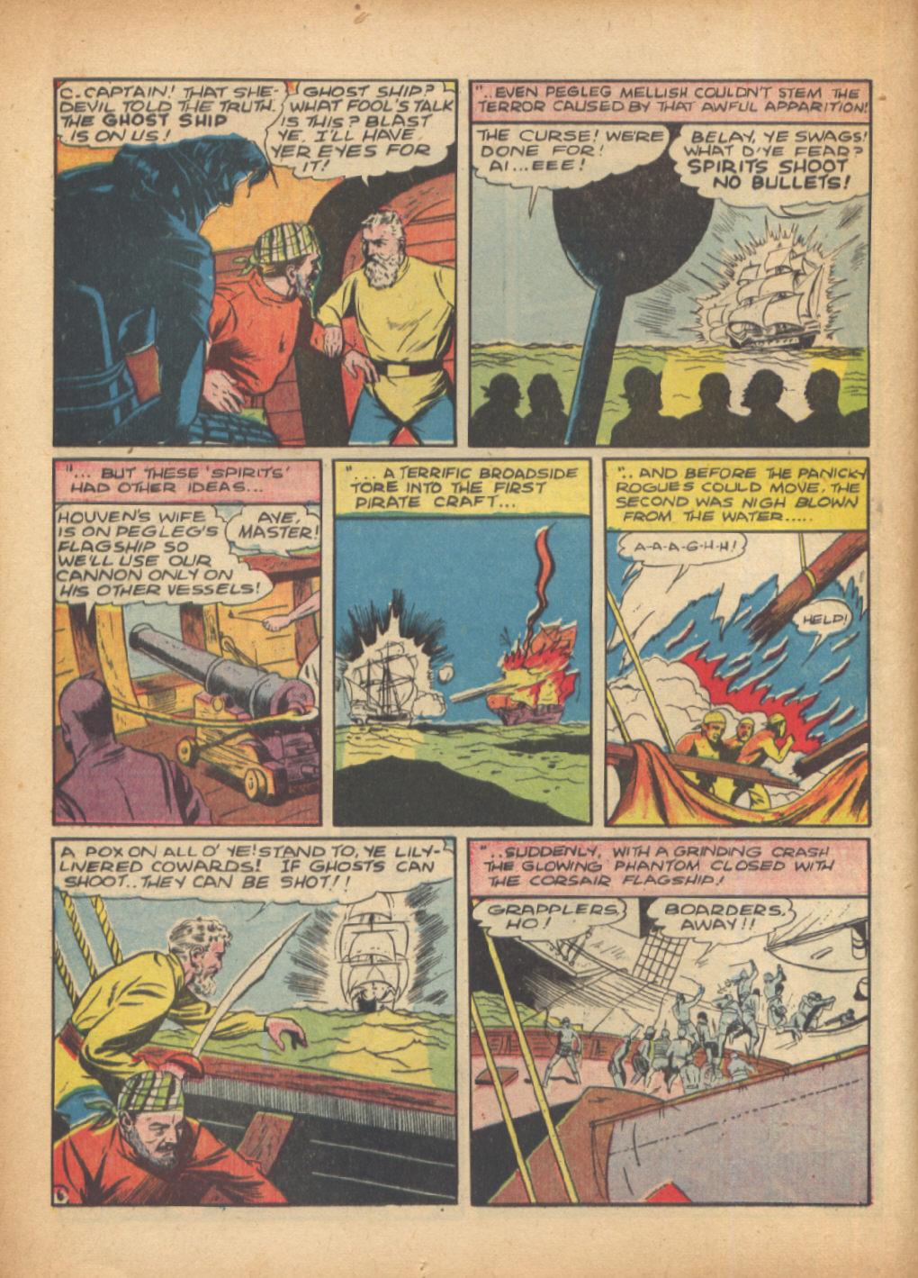 Read online Sensation (Mystery) Comics comic -  Issue #24 - 22