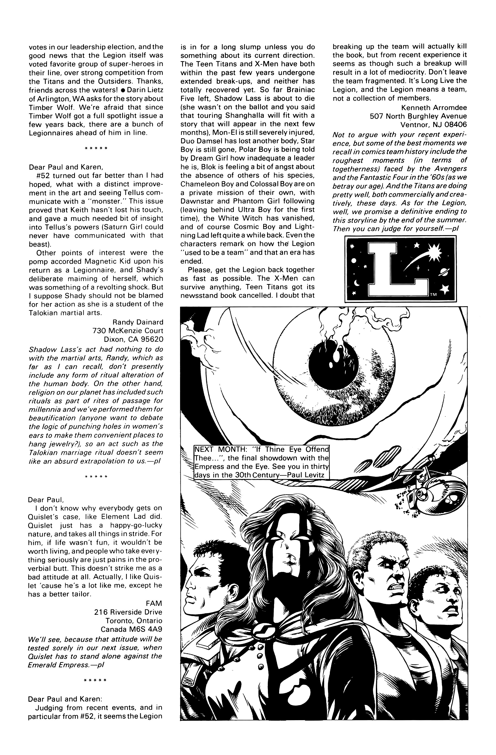 Legion of Super-Heroes (1984) 57 Page 29