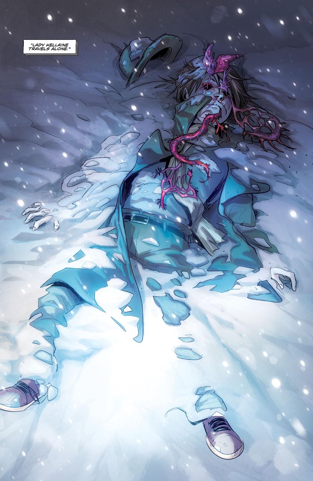 Read online Mirka Andolfo's Mercy comic -  Issue #1 - 26