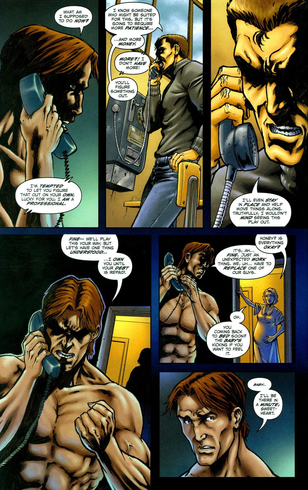Read online Snake Eyes: Declassified comic -  Issue #4 - 7